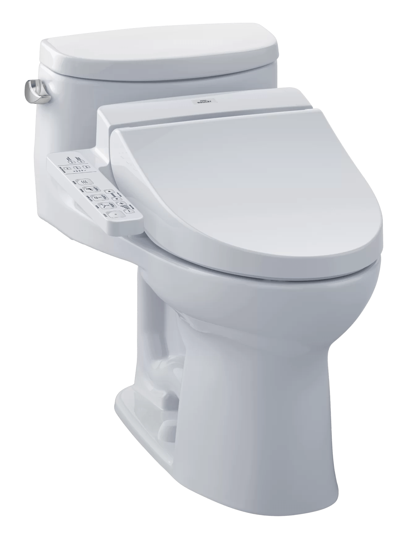 Bidet Toilette Toto Supreme 1 28 Gpf Elongated One Piece Toilet With C100