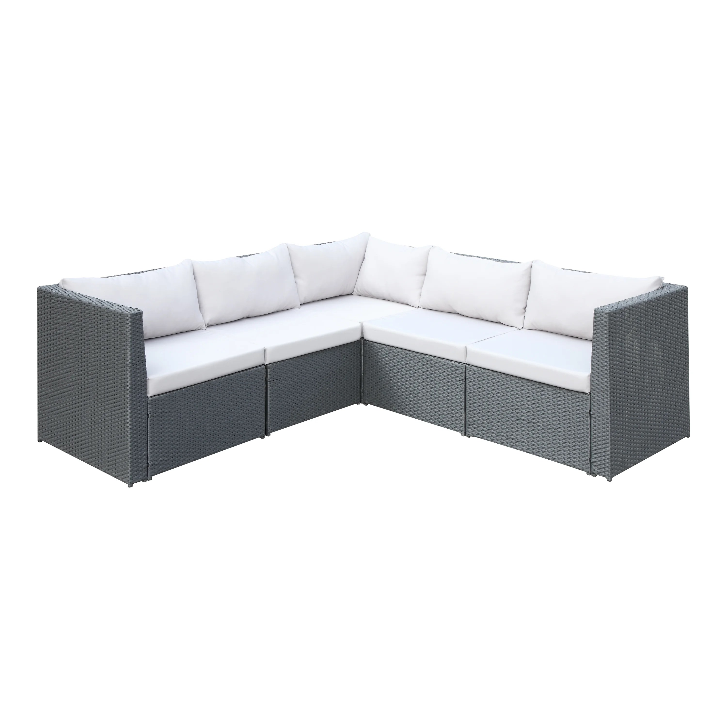 Patio Furniture Sale Mississauga Lachesis Patio Sectional With Cushions