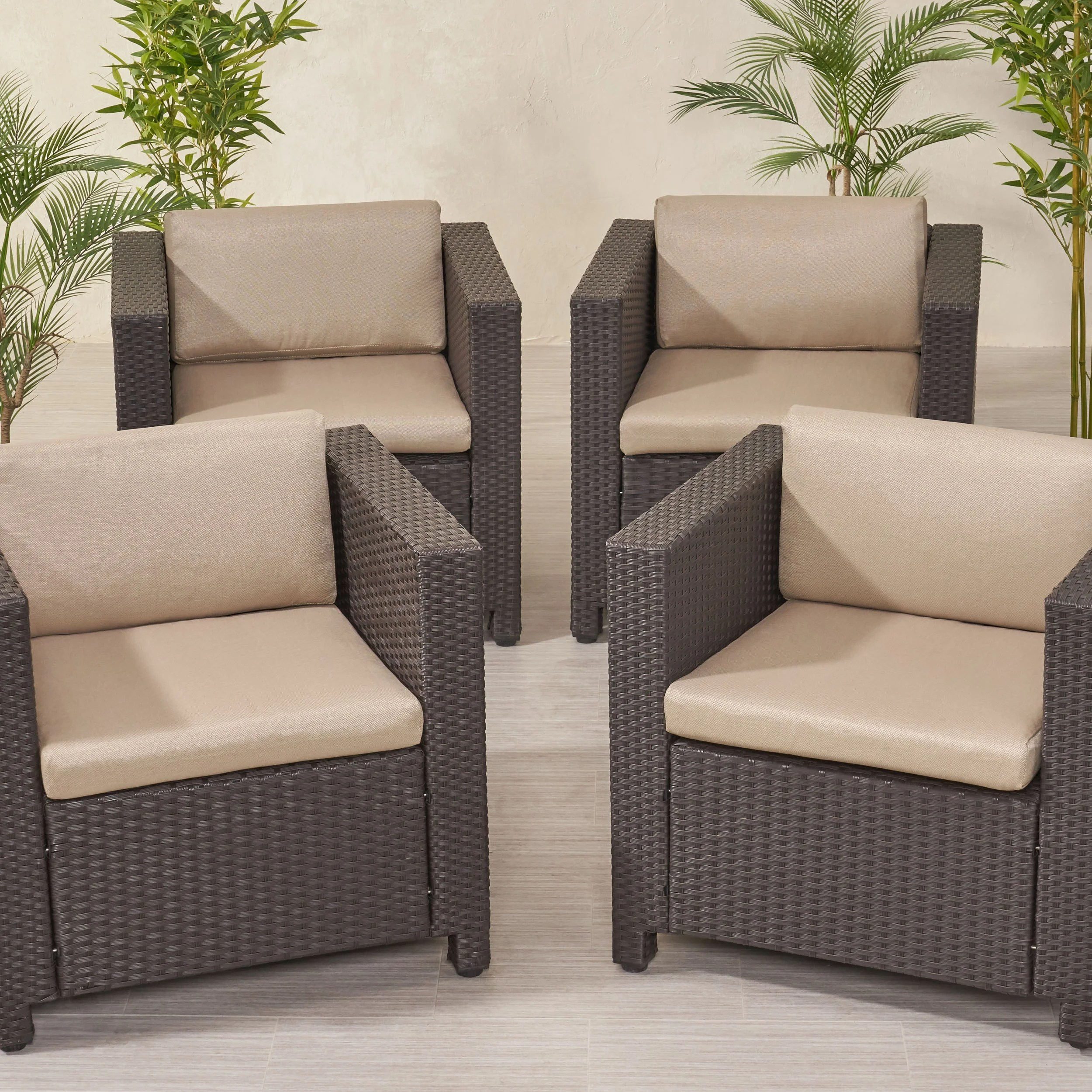 4 Water Repellent Finish Patio Furniture Cushions You Ll Love In 2021 Wayfair
