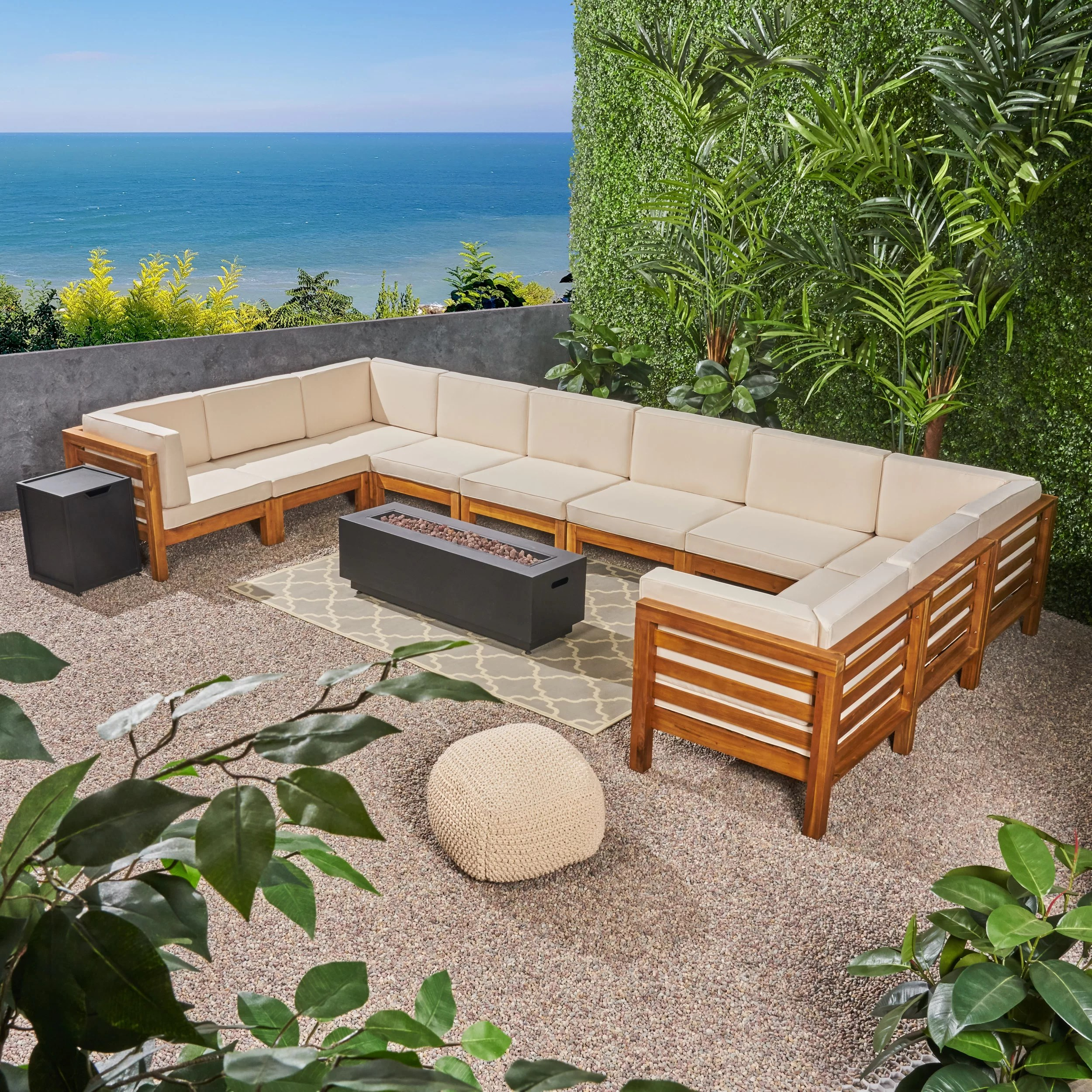 Urban Sofa Barneveld Maxwell Outdoor 12 Piece Sectional Seating Group With Cushions