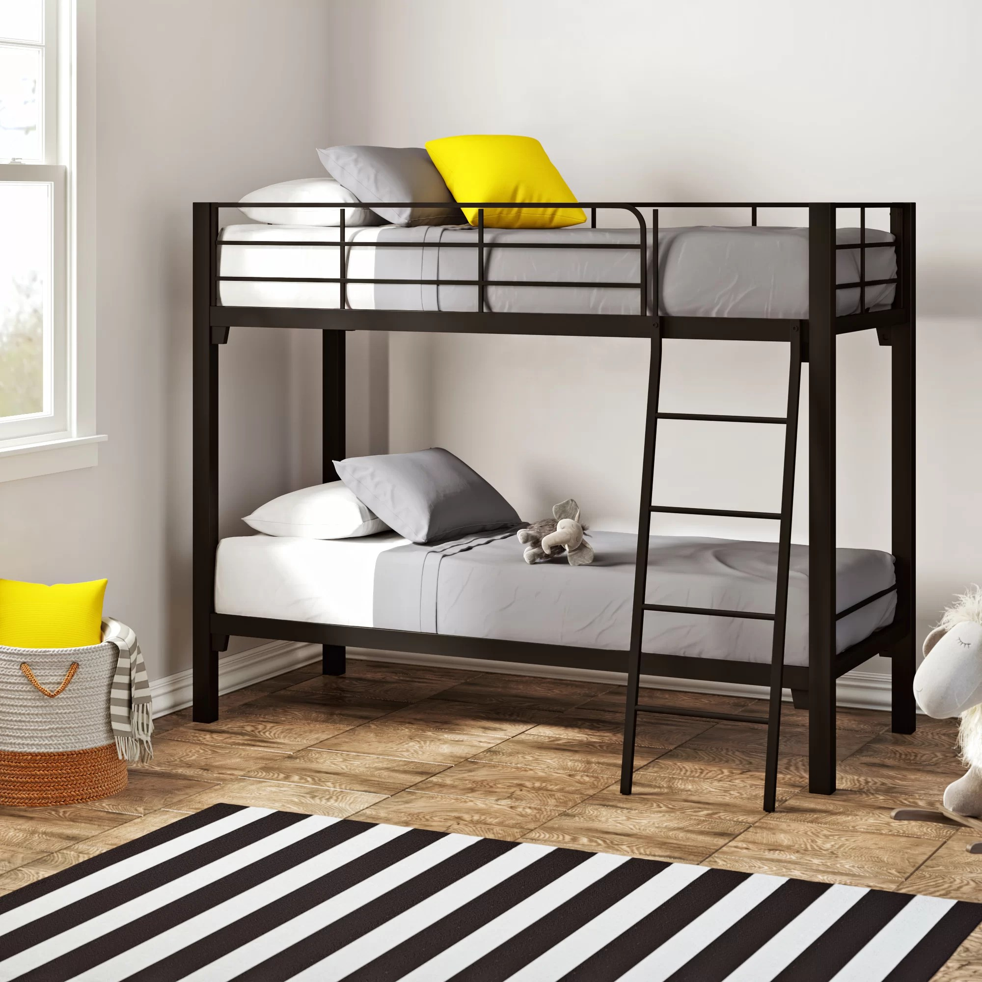 Snooze Bunk Beds Alonzo Twin Over Twin Bunk Bed