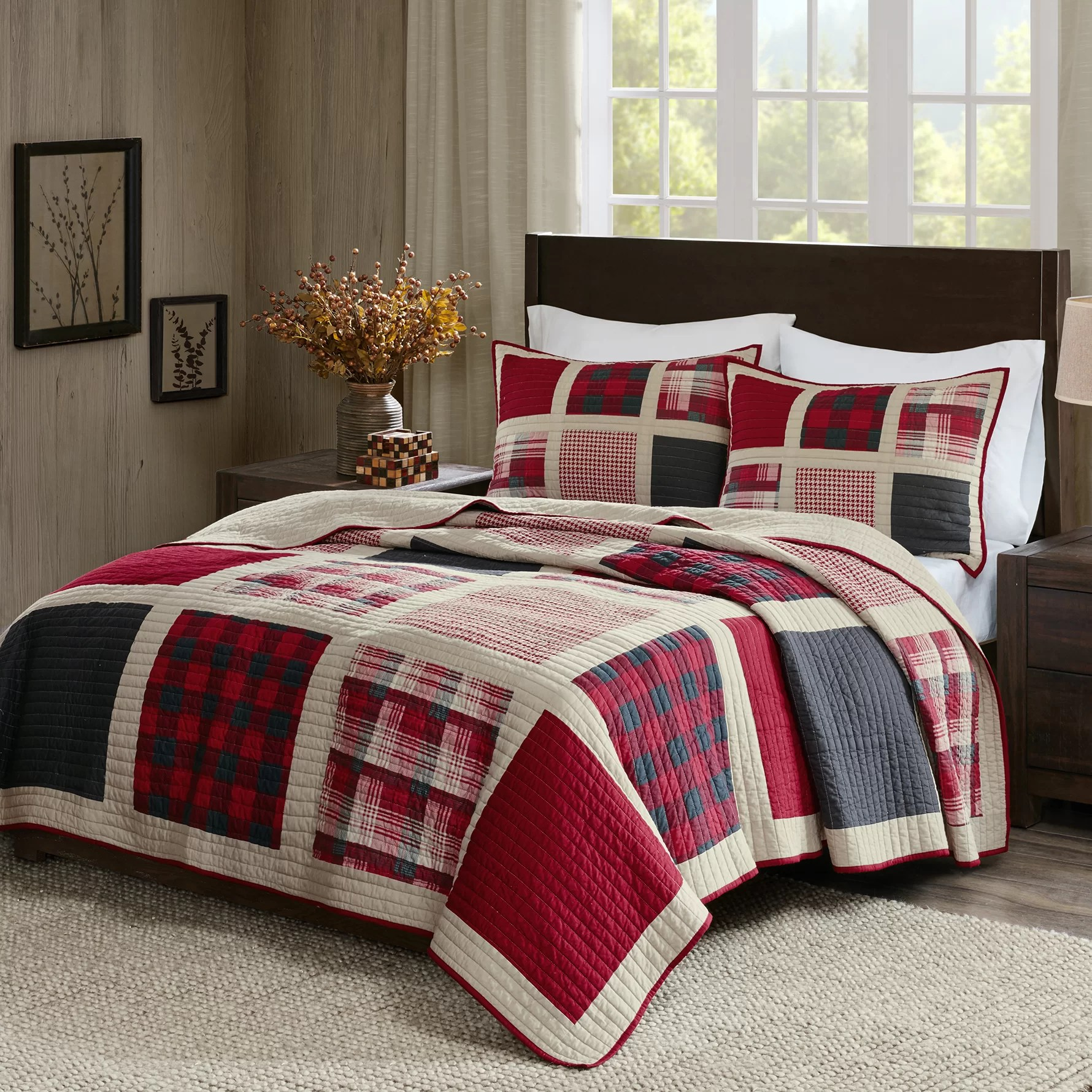 Huntington Bedroom Furniture Huntington 3 Piece Quilt Set
