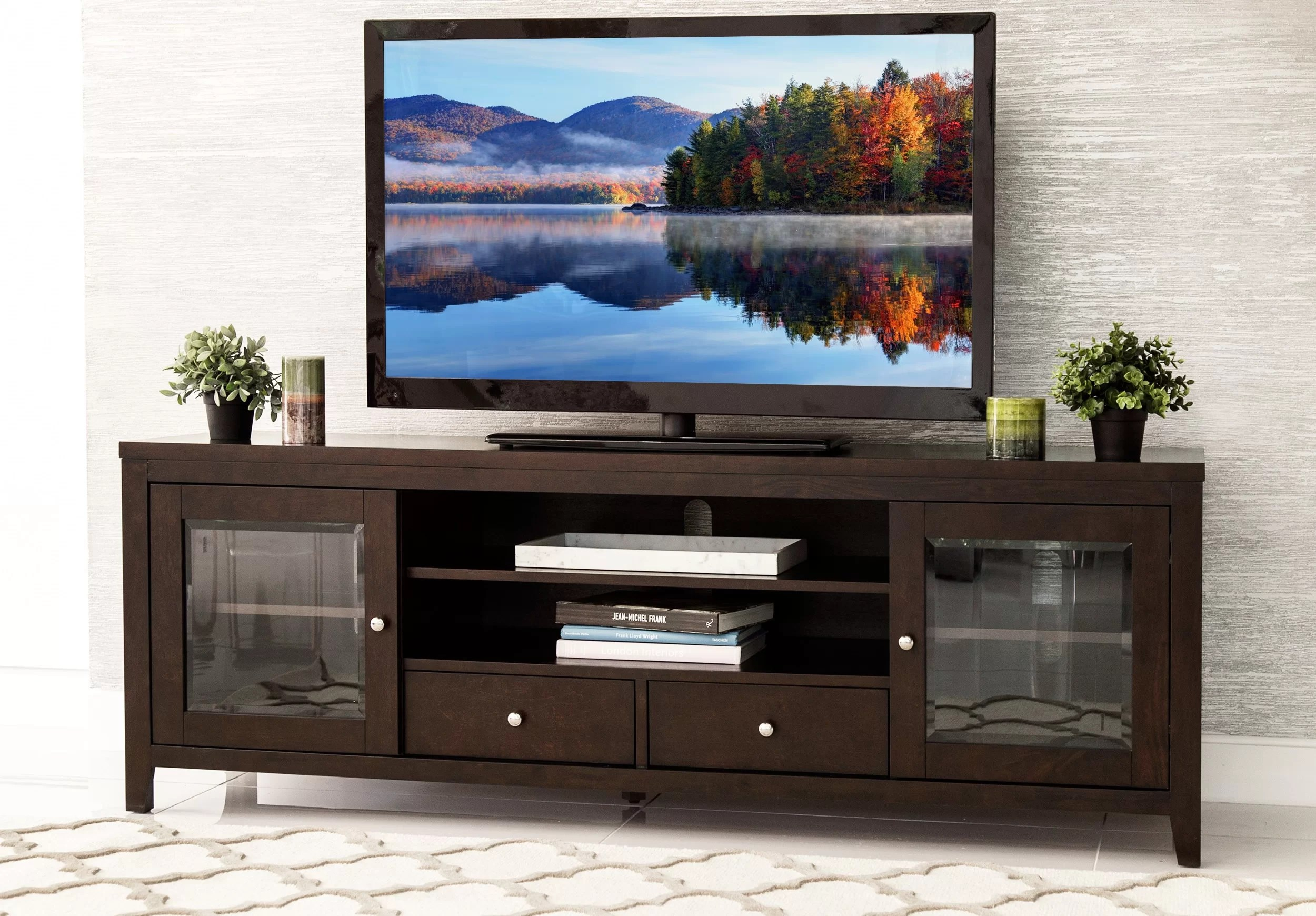 Flat Screen Tv Stands Mcbroom Tv Stand For Tvs Up To 70