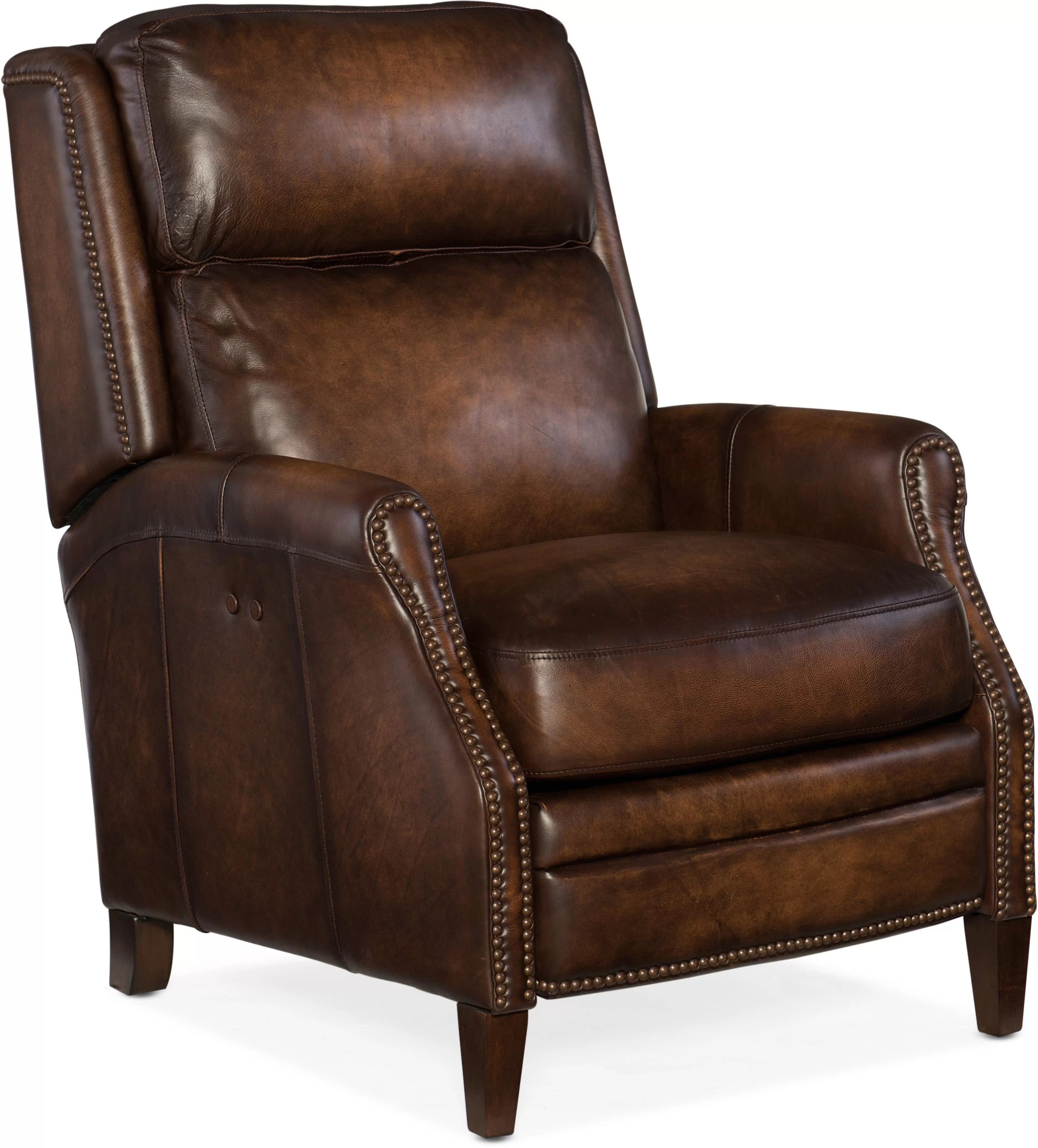Electric Recliner Leather Chairs Zephyr Leather Power Recliner