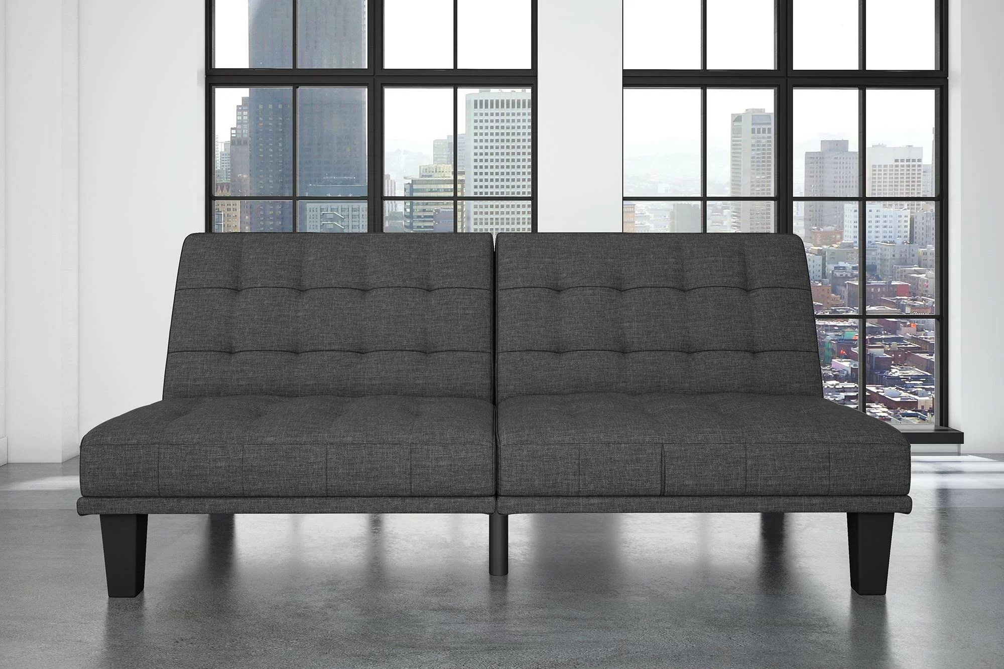Best Places To Buy A Futon Haysi Futon Lounger Convertible Sofa
