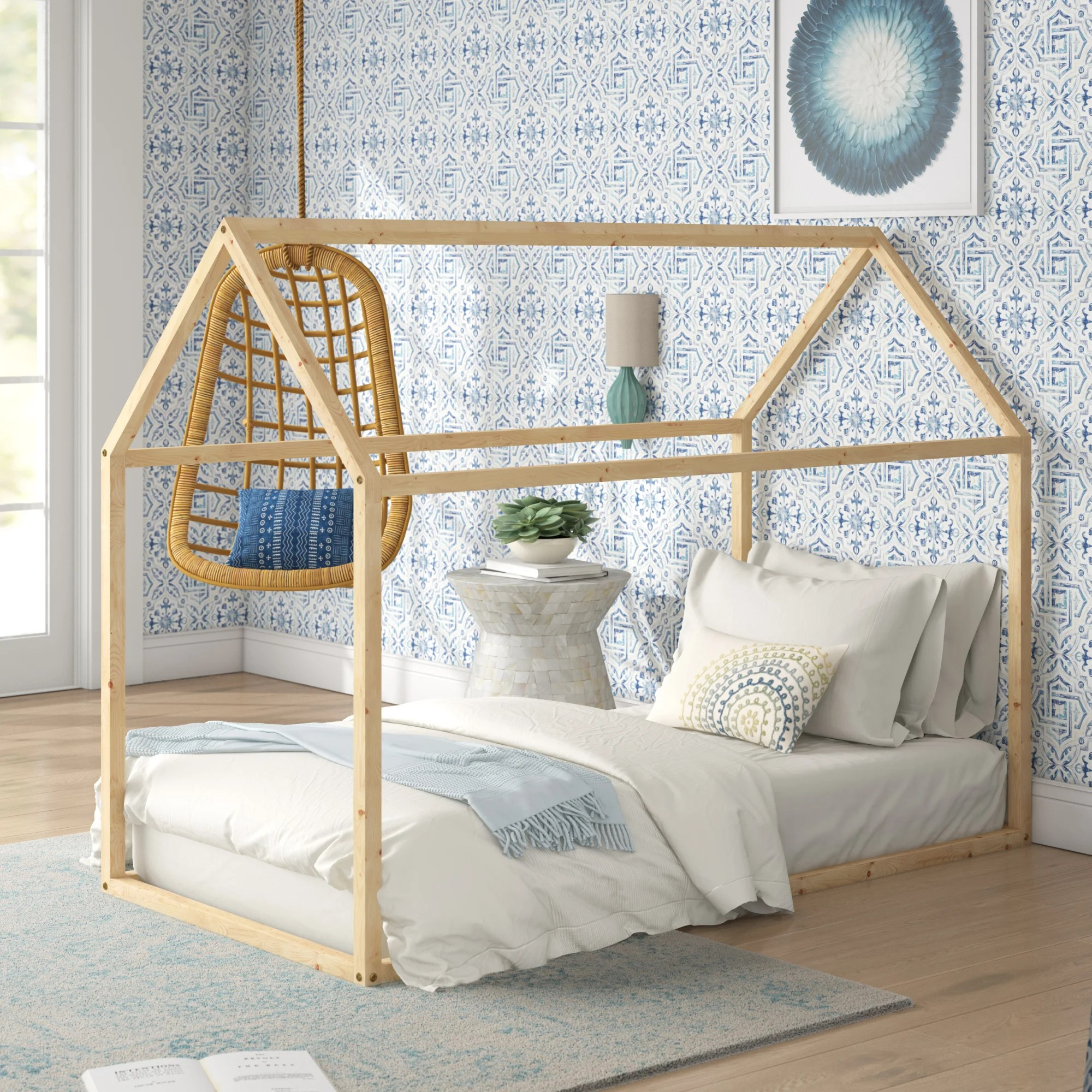 Isabelle Max Ledger Canopy Bed Reviews Wayfair