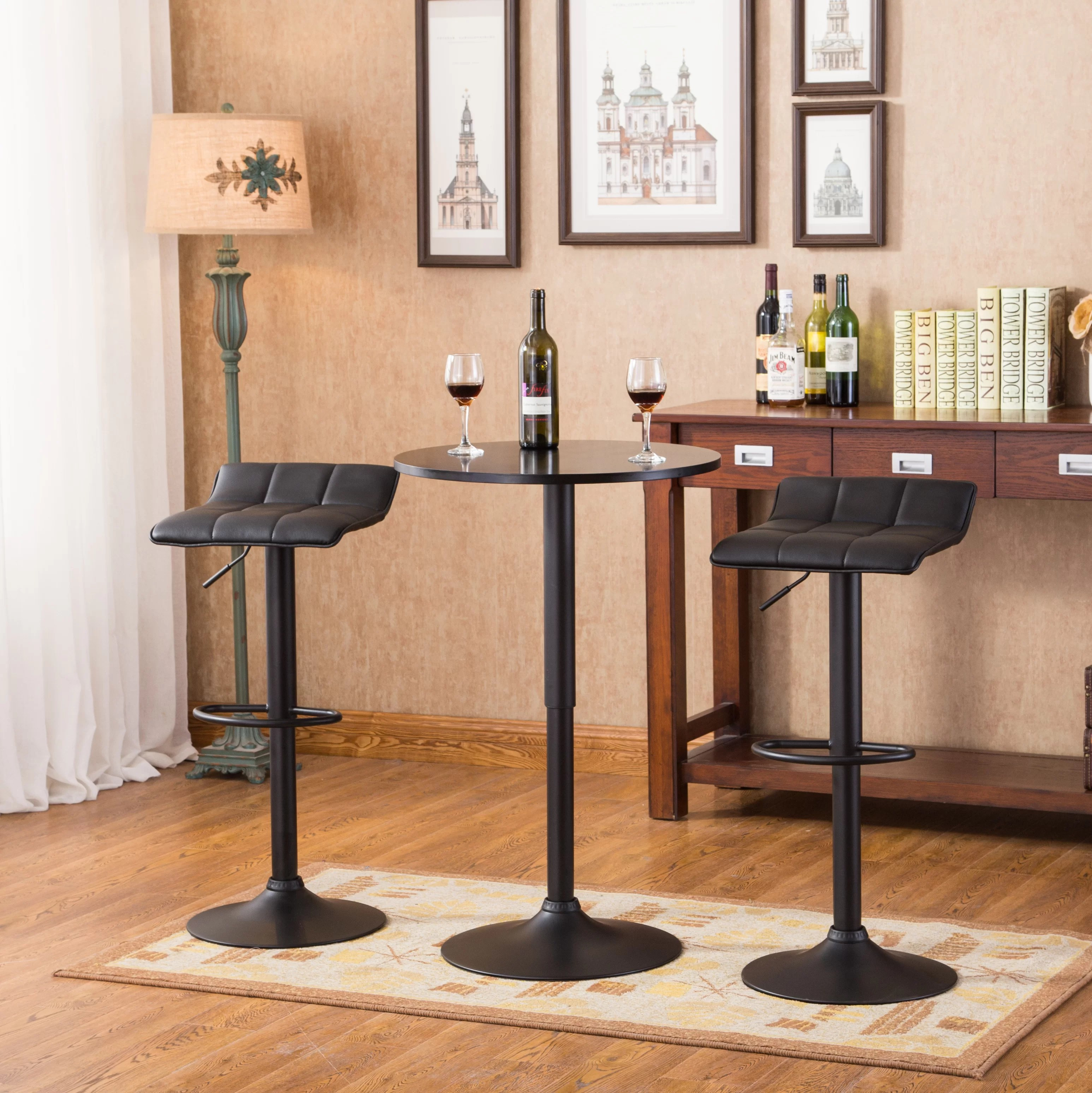 Lot De 2 Tabourets De Bar Clark Table De Bar Design