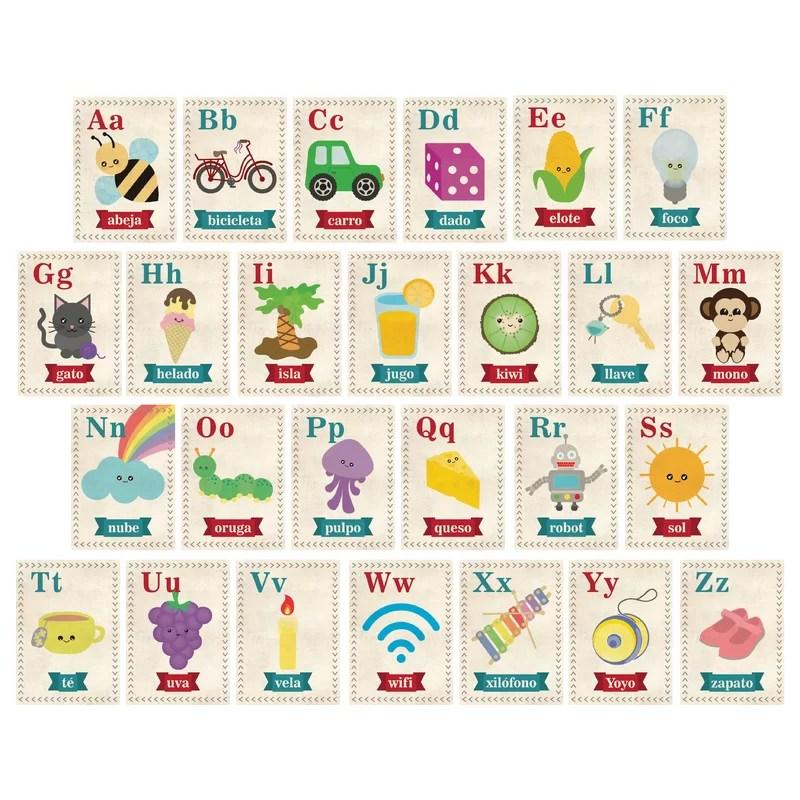 Children Inspire Design Alphabet in Spanish Paper Print Wayfair - alphabet in spanish