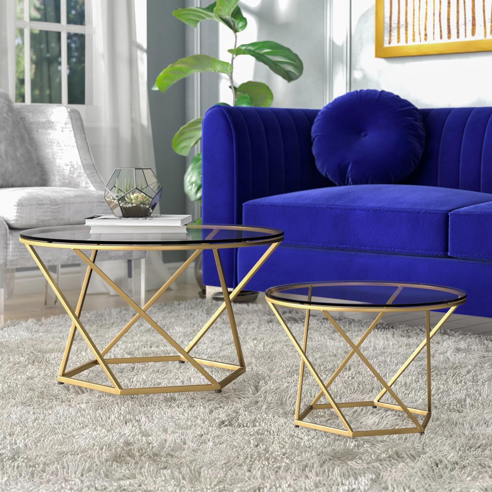 Now Time Couchtisch Ct 18 Adrianna 2 Piece Coffee Table Set
