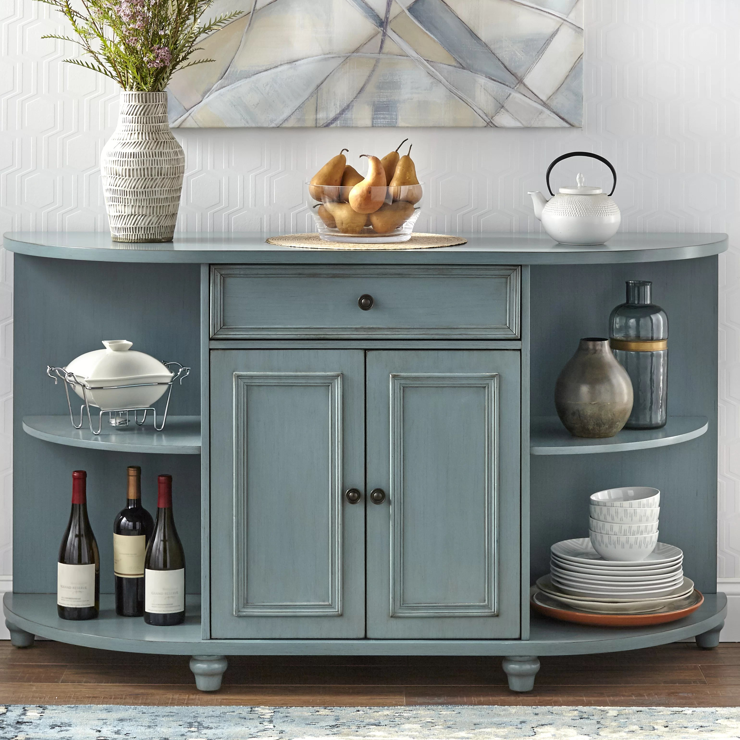 Buffet Sideboard Blue Blue Coastal Sideboards Buffets You Ll Love Wayfair