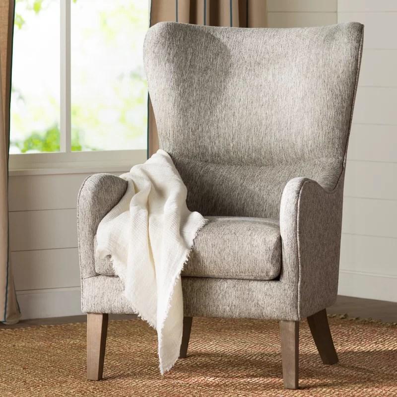 Granville Swoop Wingback Chair