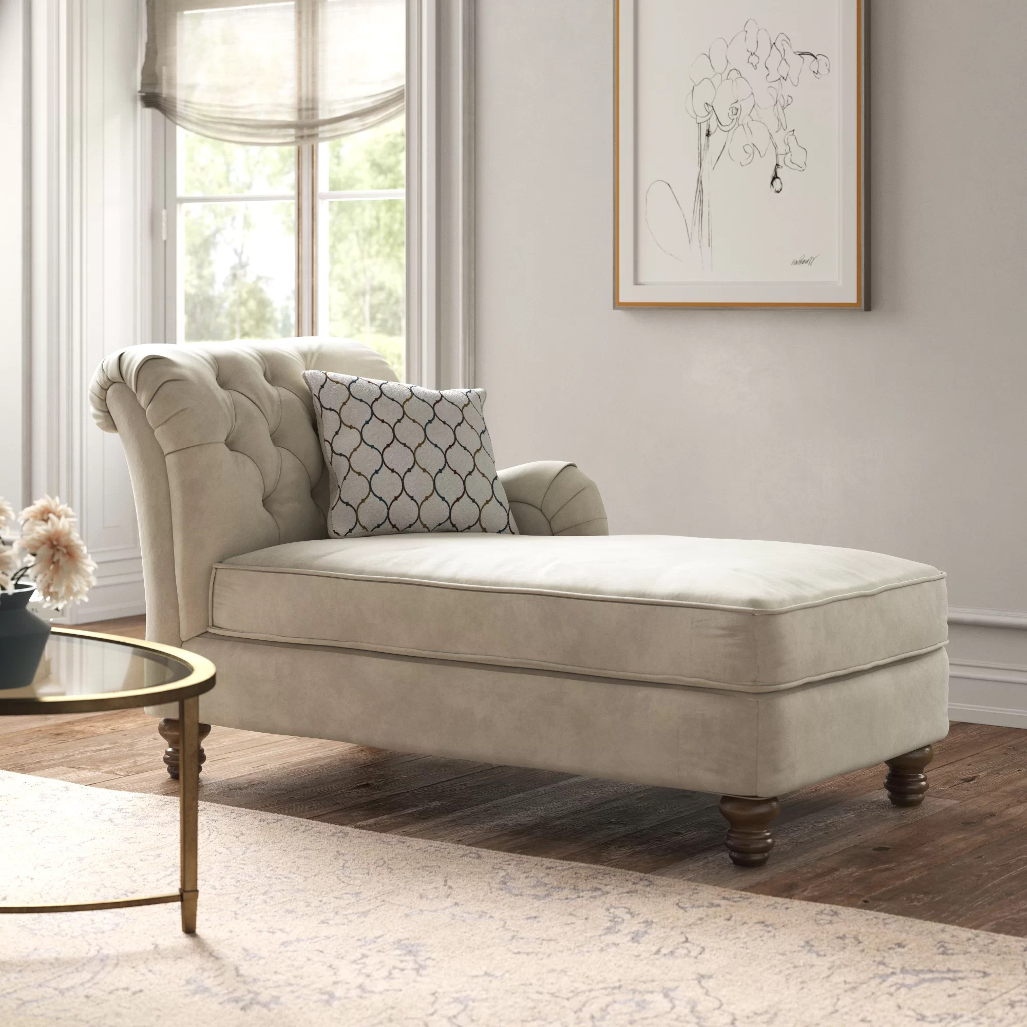 Kelly Clarkson Home Chaise Lounge & Reviews | Wayfair