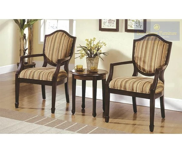 Bay Isle Home Sargentville 3 Pieces Living Room Armchair Set - 3 piece living room table set