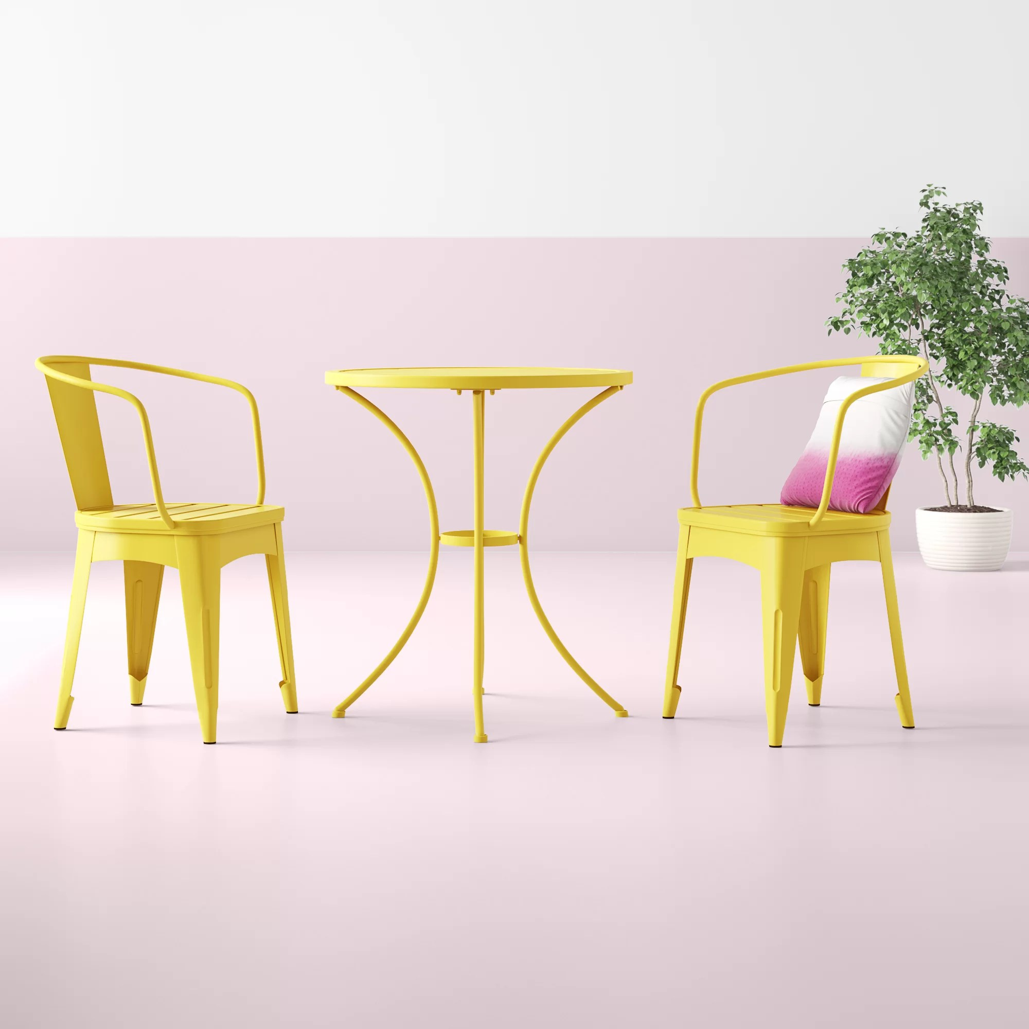 Yellow Patio Dining Sets You Ll Love In 2020 Wayfair - Outdoor Furniture Clearance Houston