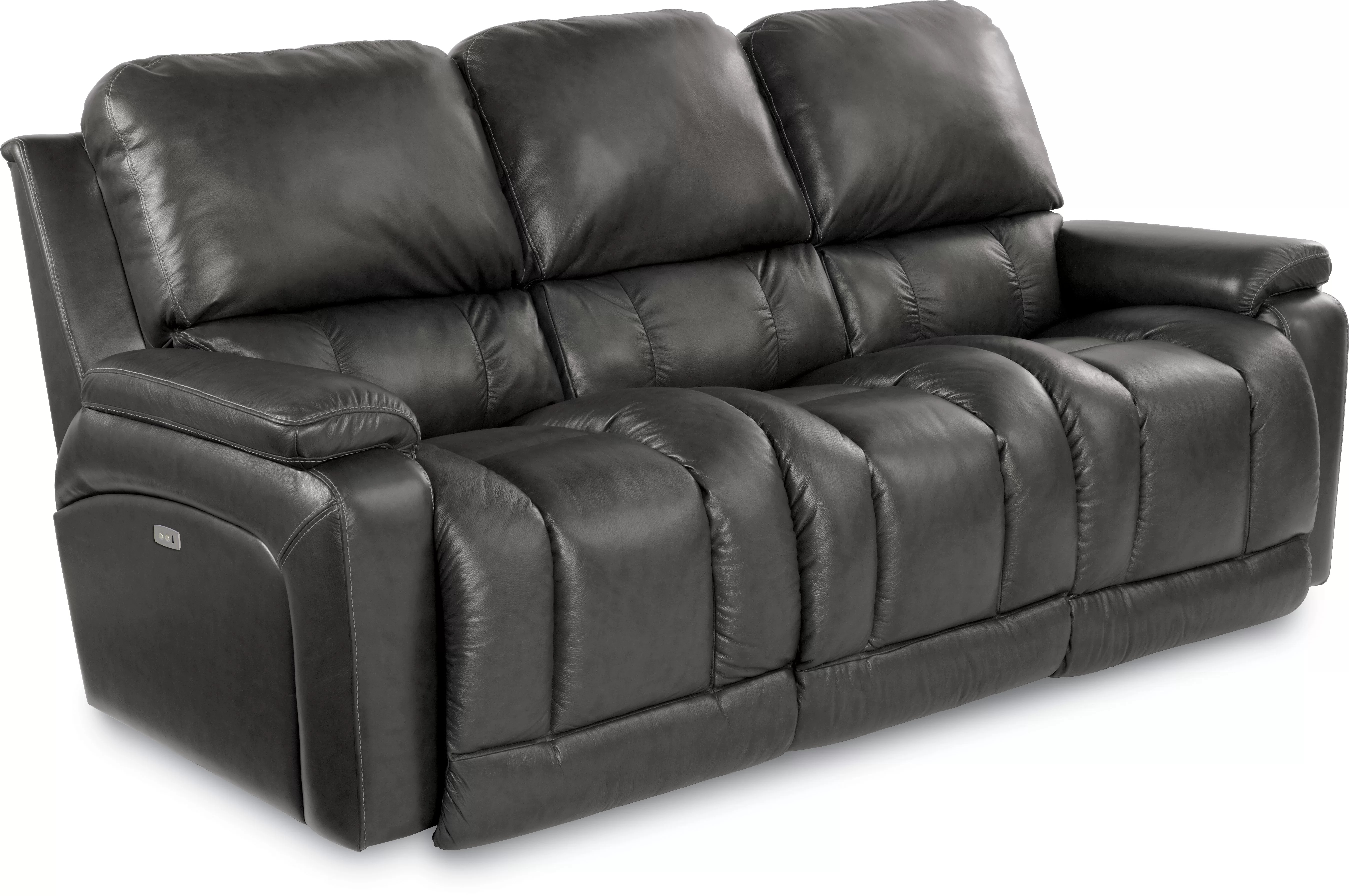 Leather Sofa La Z Boy Greyson Leather Reclining Sofa