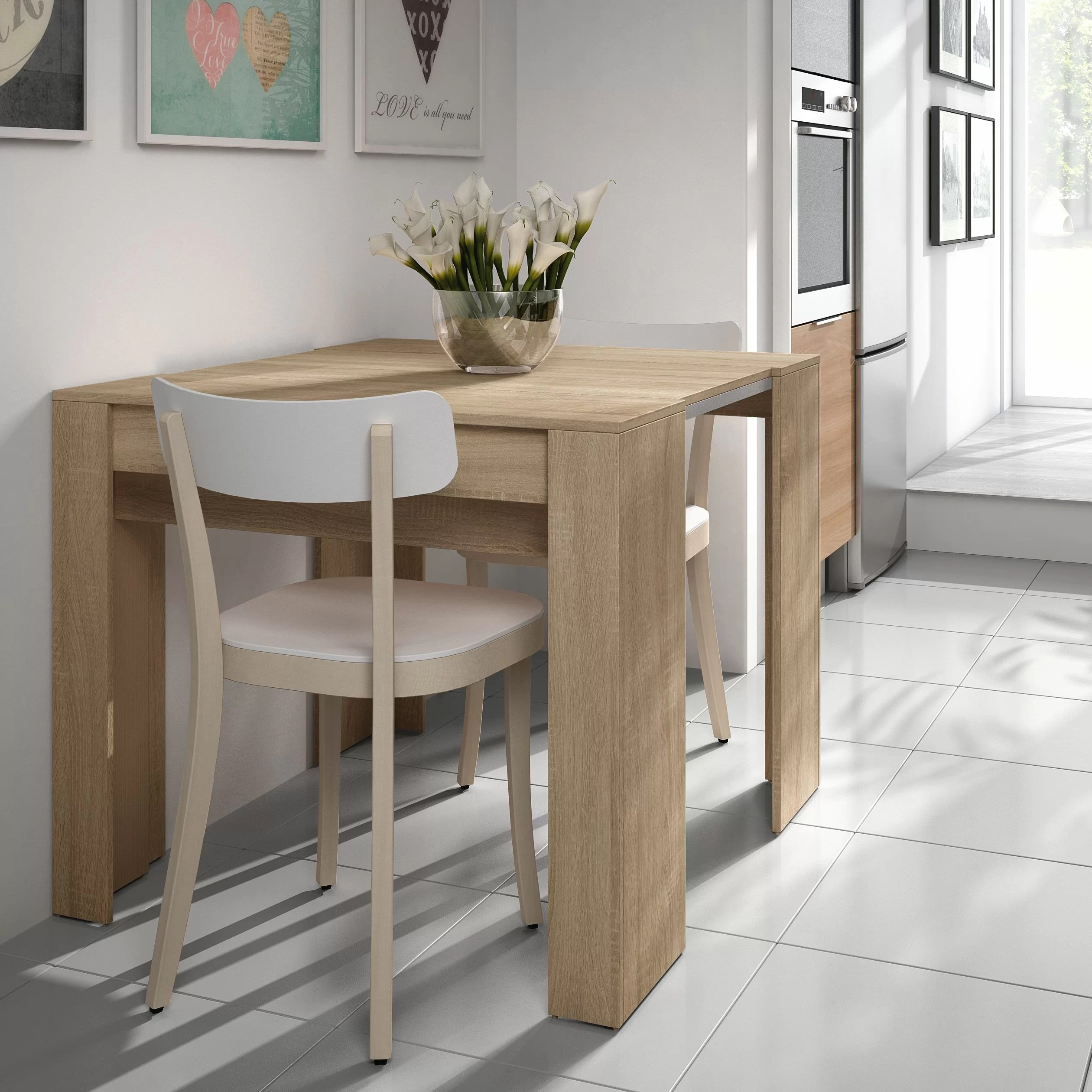 Extending Dining Table Luiz Extendable Dining Table