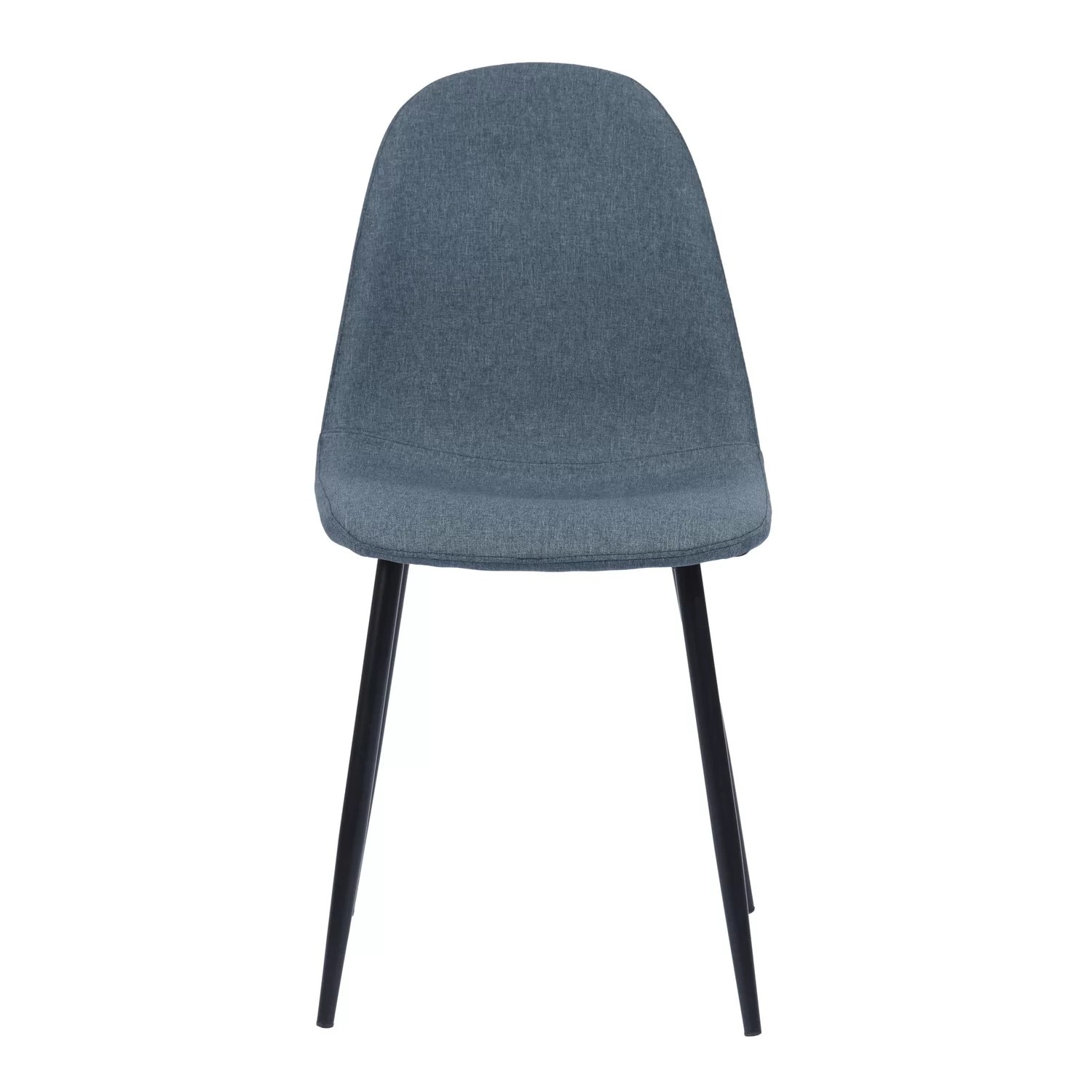 Corrigan Studio Baldwin Upholstered Parsons Chair In Blue Wayfair