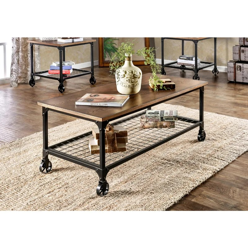 Trent Austin Design Nederland 3 Piece Coffee Table Set \ Reviews - 3 piece living room table set