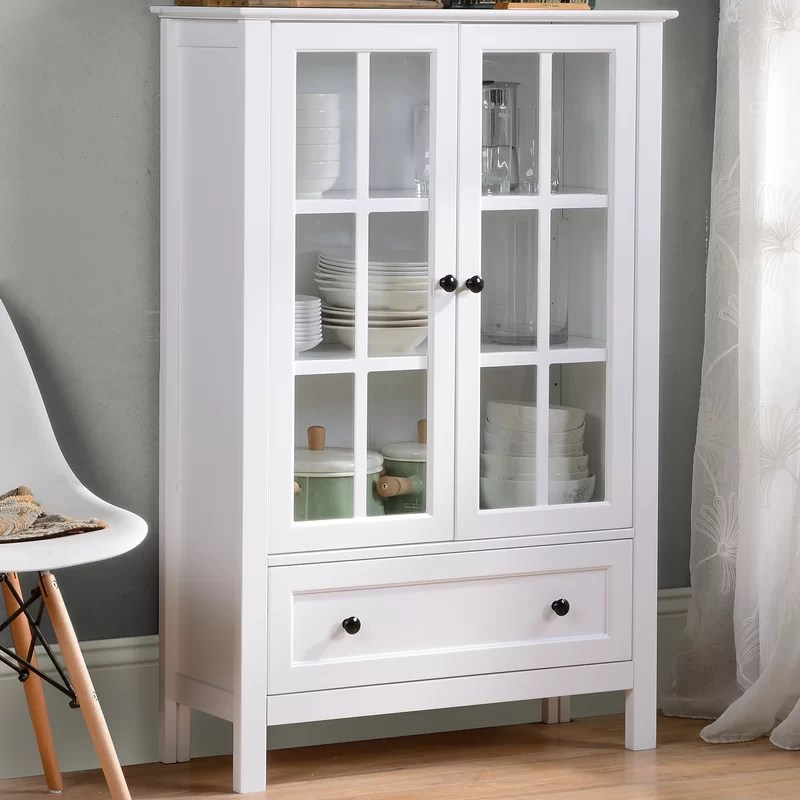 Homestar Miranda Standard China Cabinet  Reviews Wayfair