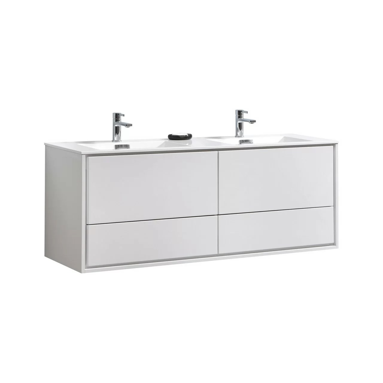 Wall Mount Double Vanity Trieu 59