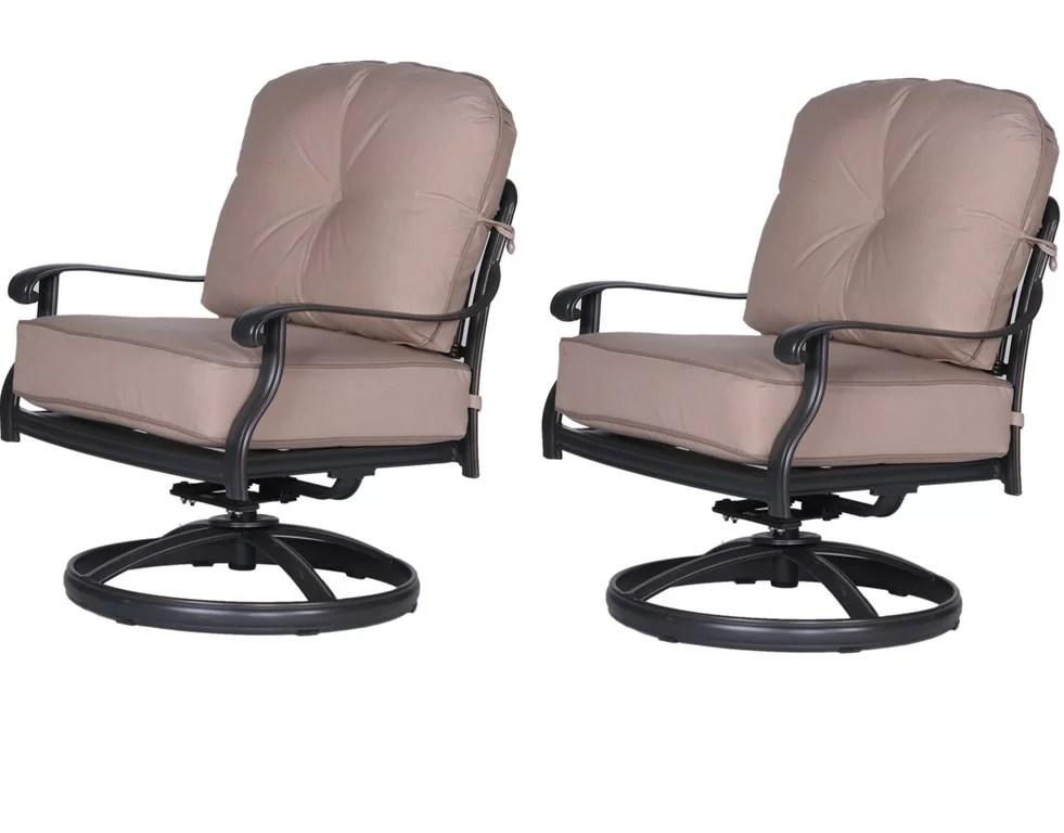Bean Club Patio Chair With Cushion Set Of 2 By Fleur De