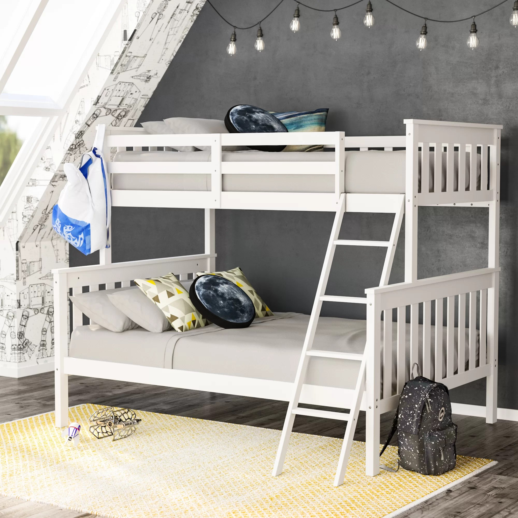 Snooze Bunk Beds Rowley Twin Over Full Bunk Bed
