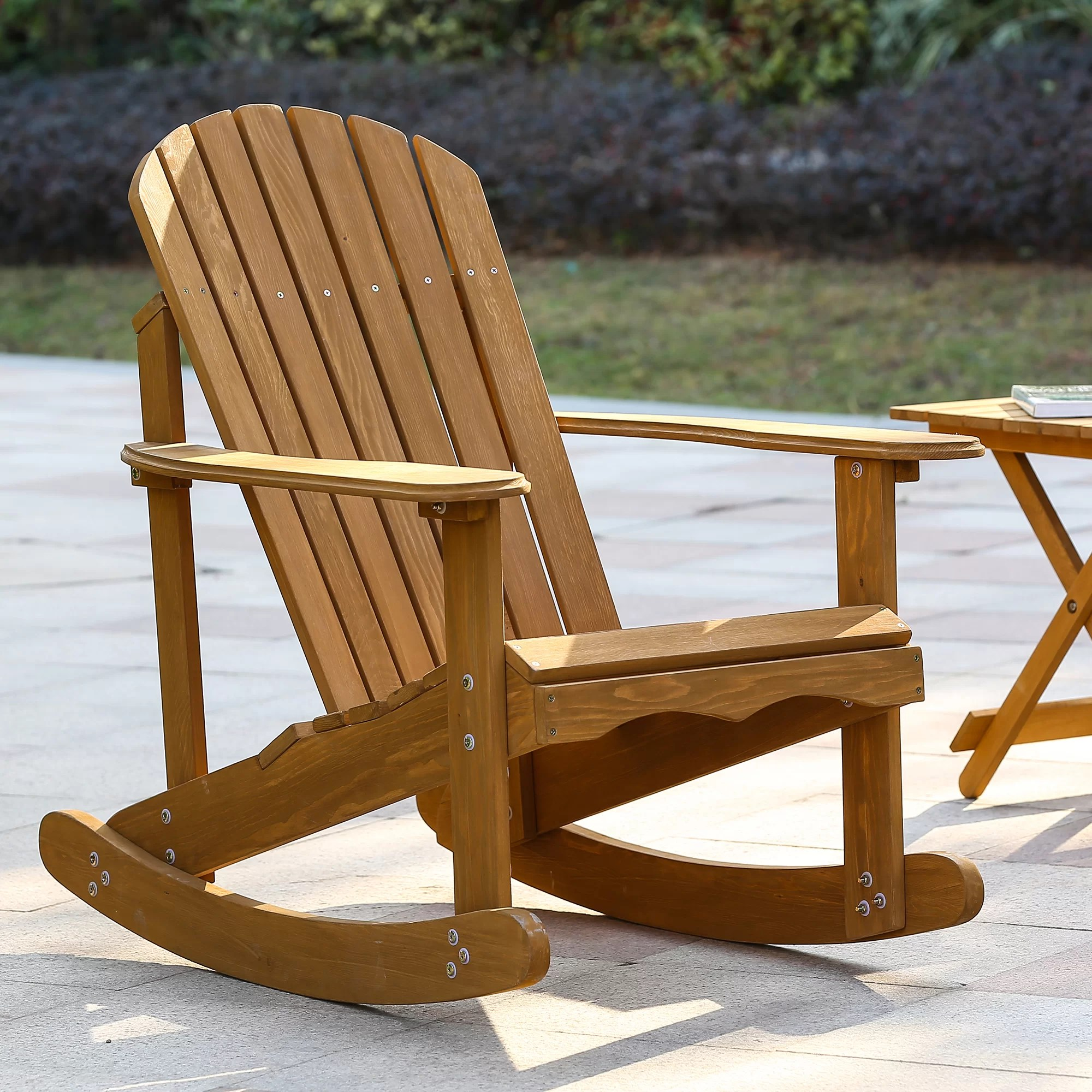 Best Place To Buy Rocking Chairs Chartier Solid Wood Rocking Adirondack Chair
