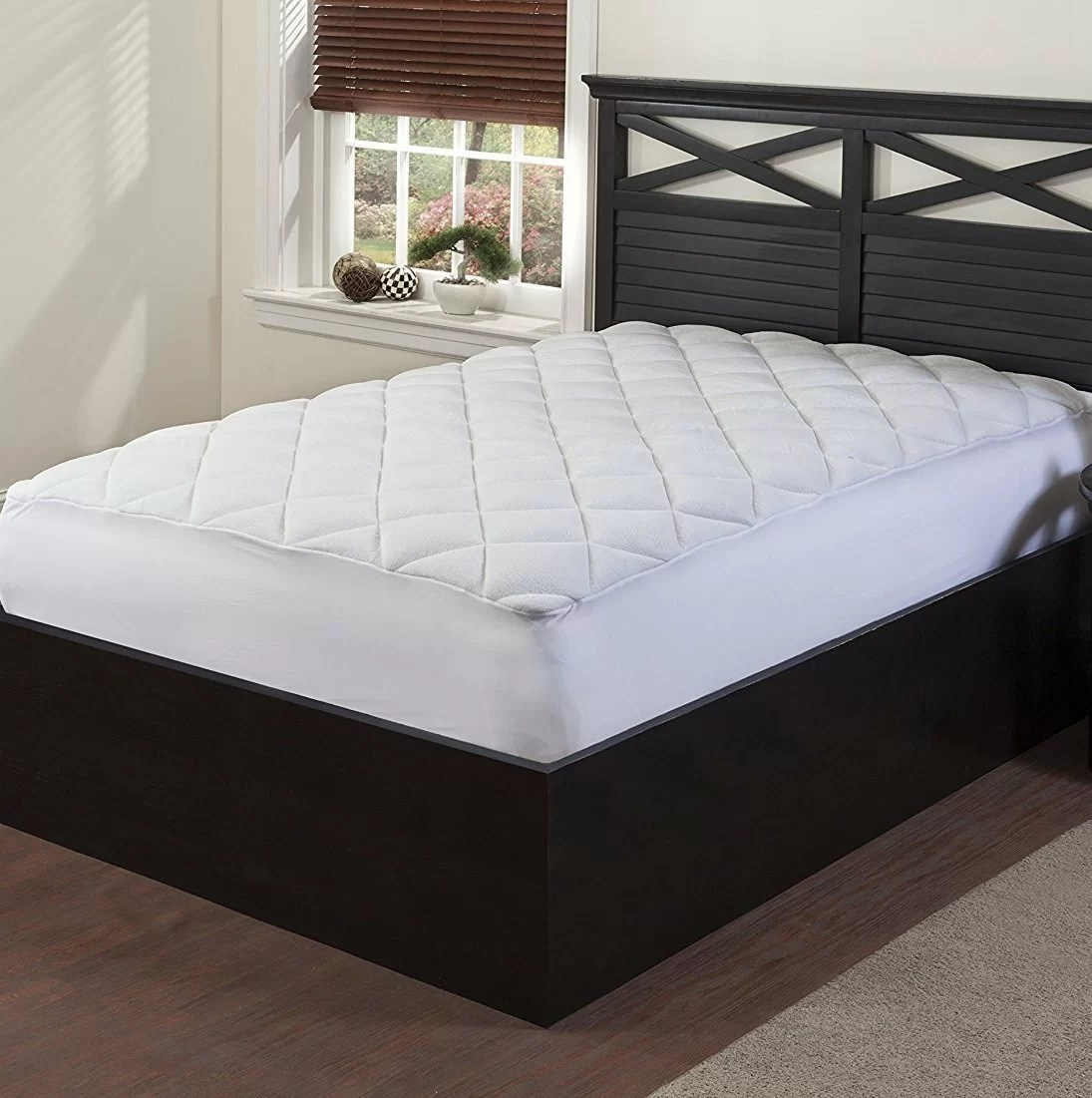 Double Bed Mattress Cover Double Puff Mattress Topper