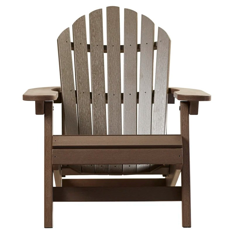 Amiya Plastic Folding Adirondack Chair