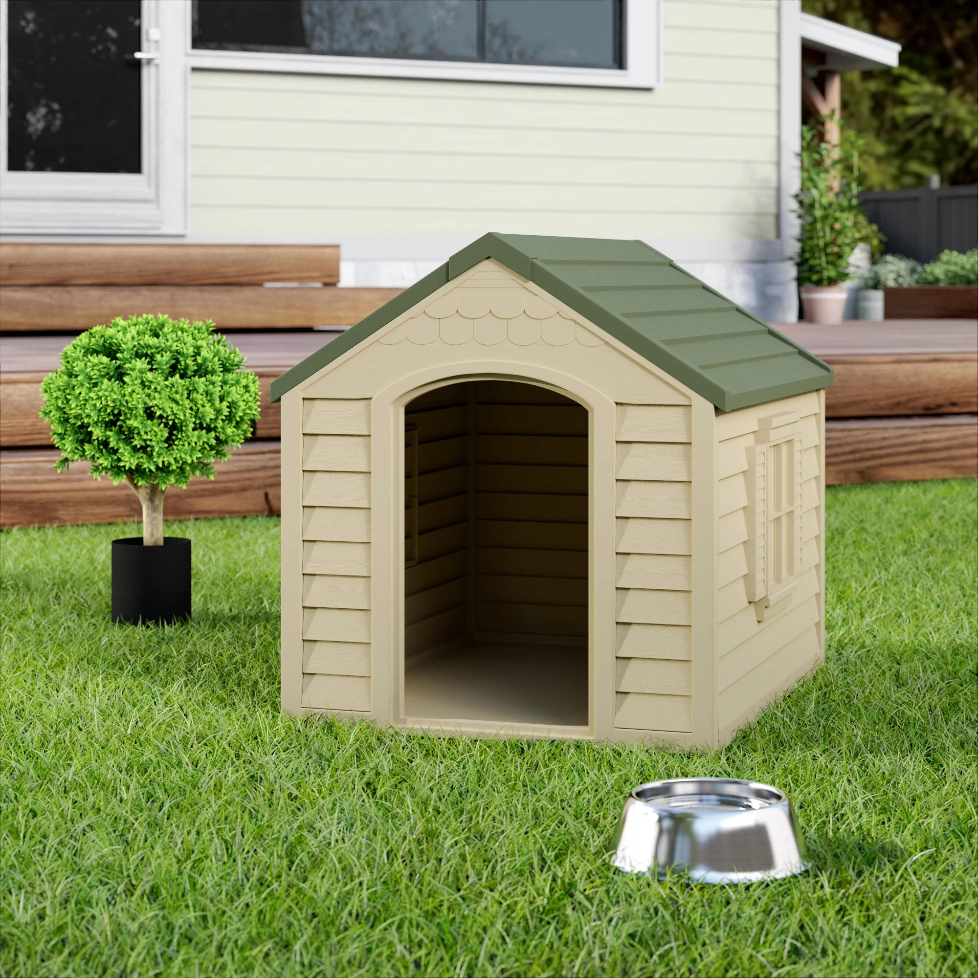 Porch Dog Houses You Ll Love In 2021 Wayfair