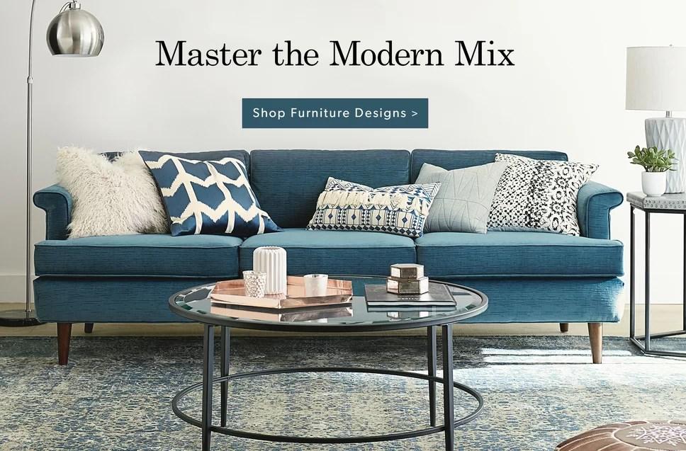 DwellStudio - Modern Furniture Store, Home Décor, \ Contemporary - modern furniture living room