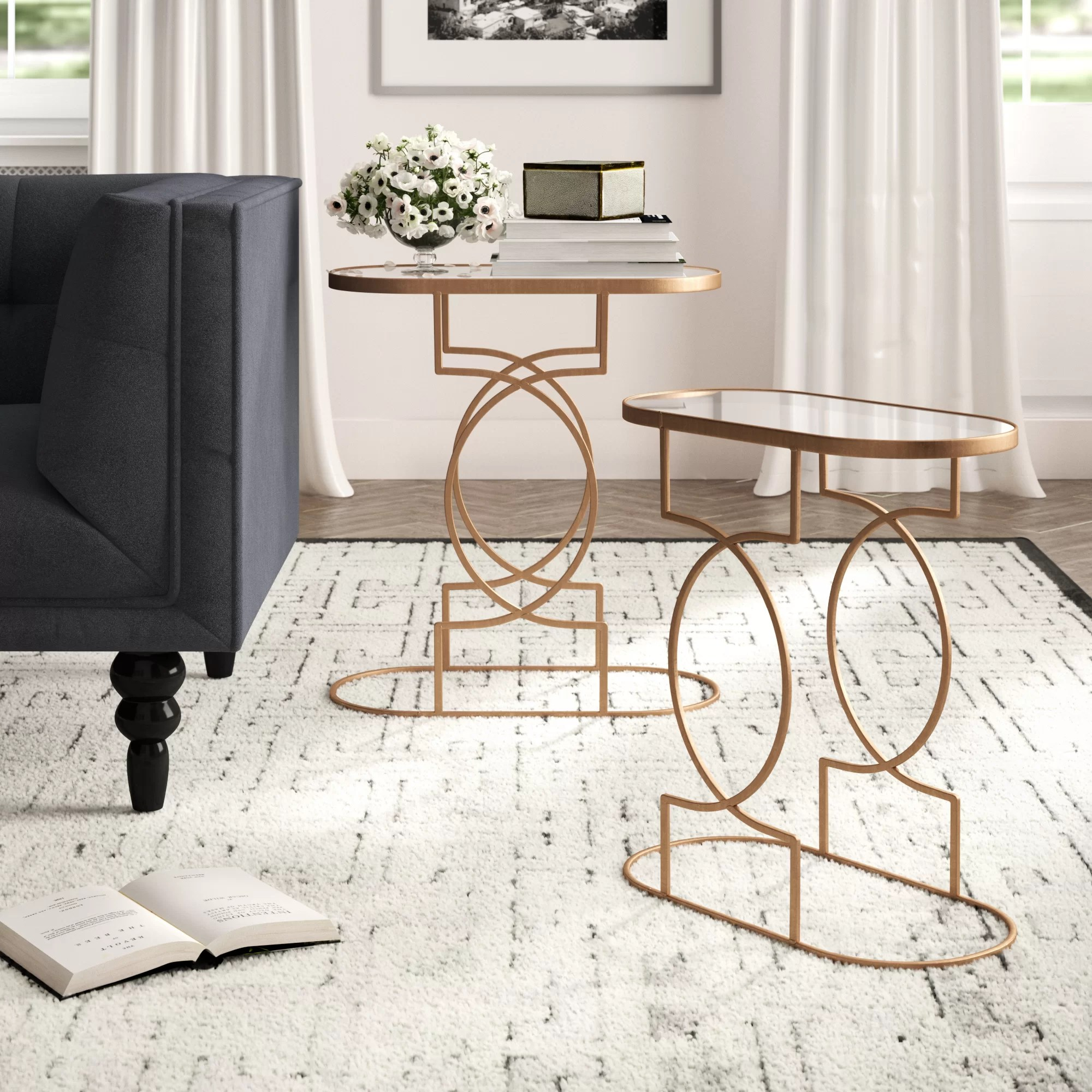 Urban Sofa Barneveld Fabia 2 Piece End Table Set