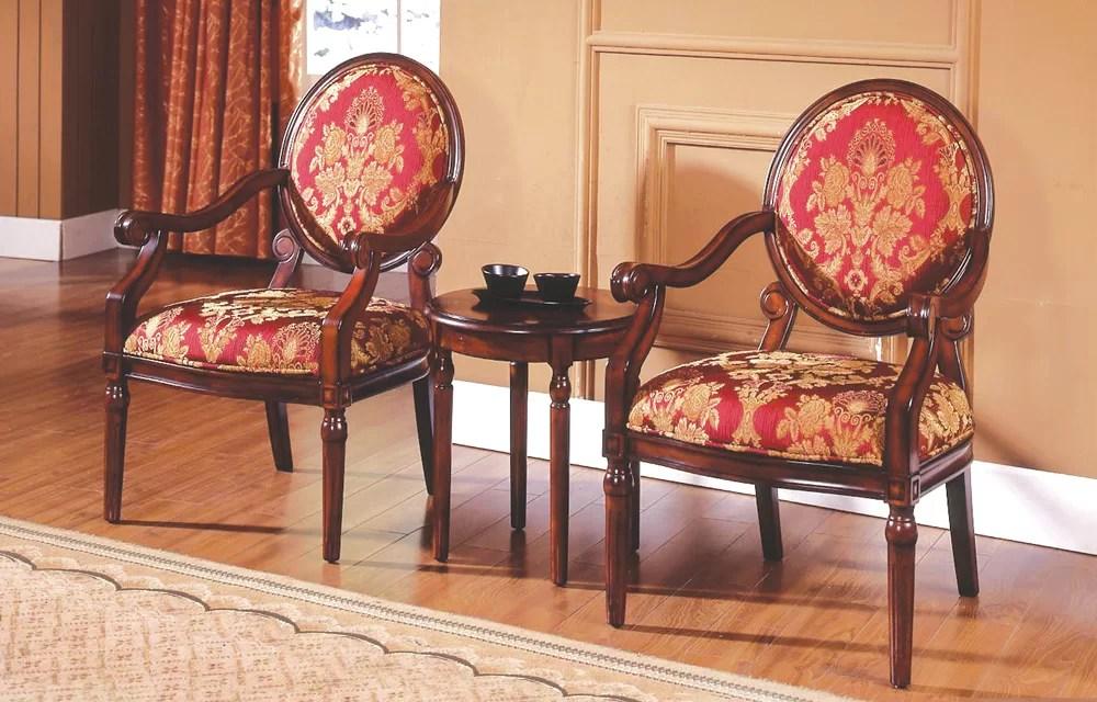 Astoria Grand Ambassador 3 Pieces Living Room Armchair Set - living room armchair