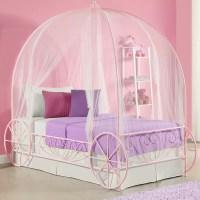 Zoomie Kids Brandy Twin Canopy Bed & Reviews   Wayfair