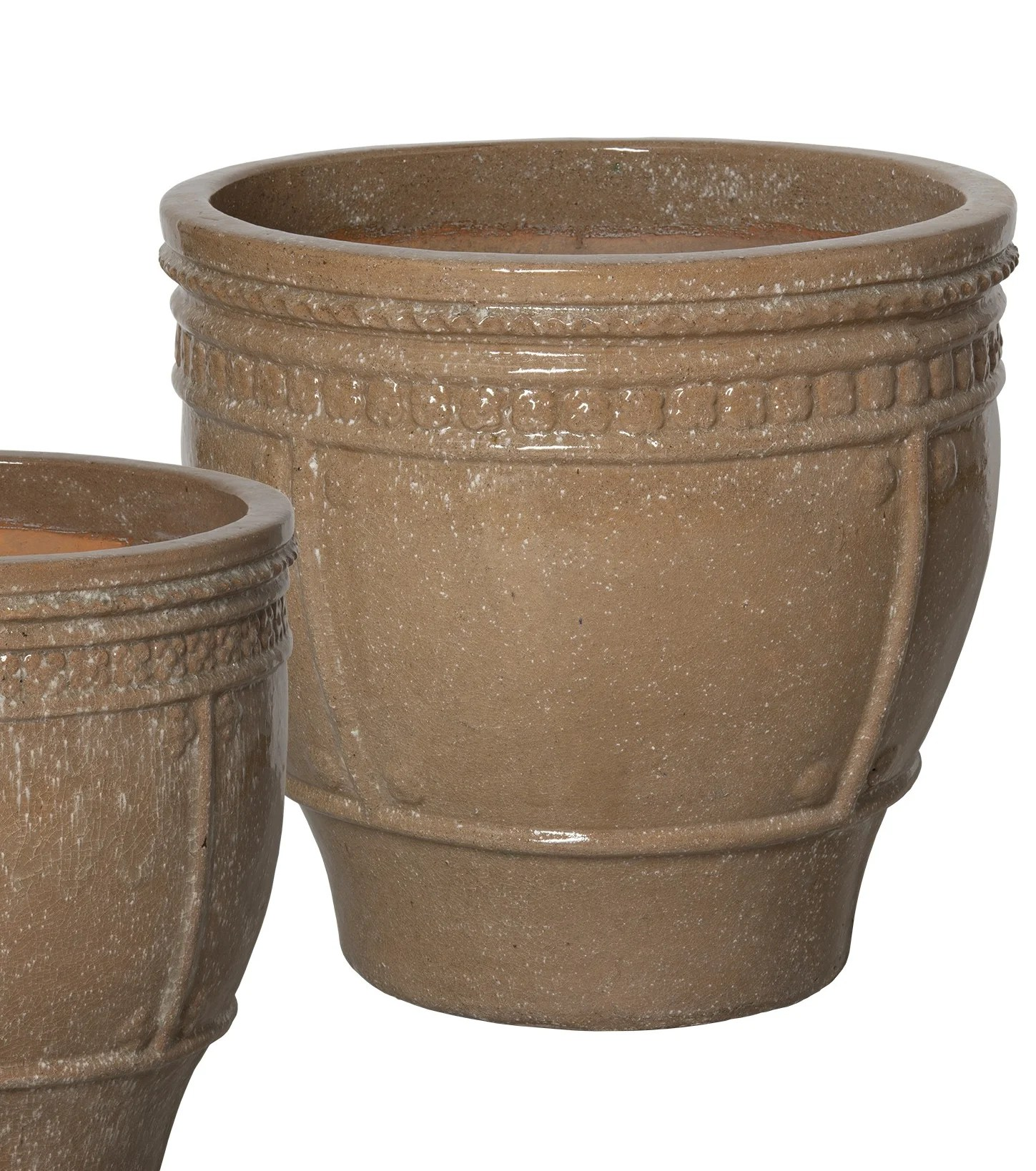 Planter Lys En Pot Emissary Bullet 4 Piece Ceramic Pot Planter Set Wayfair