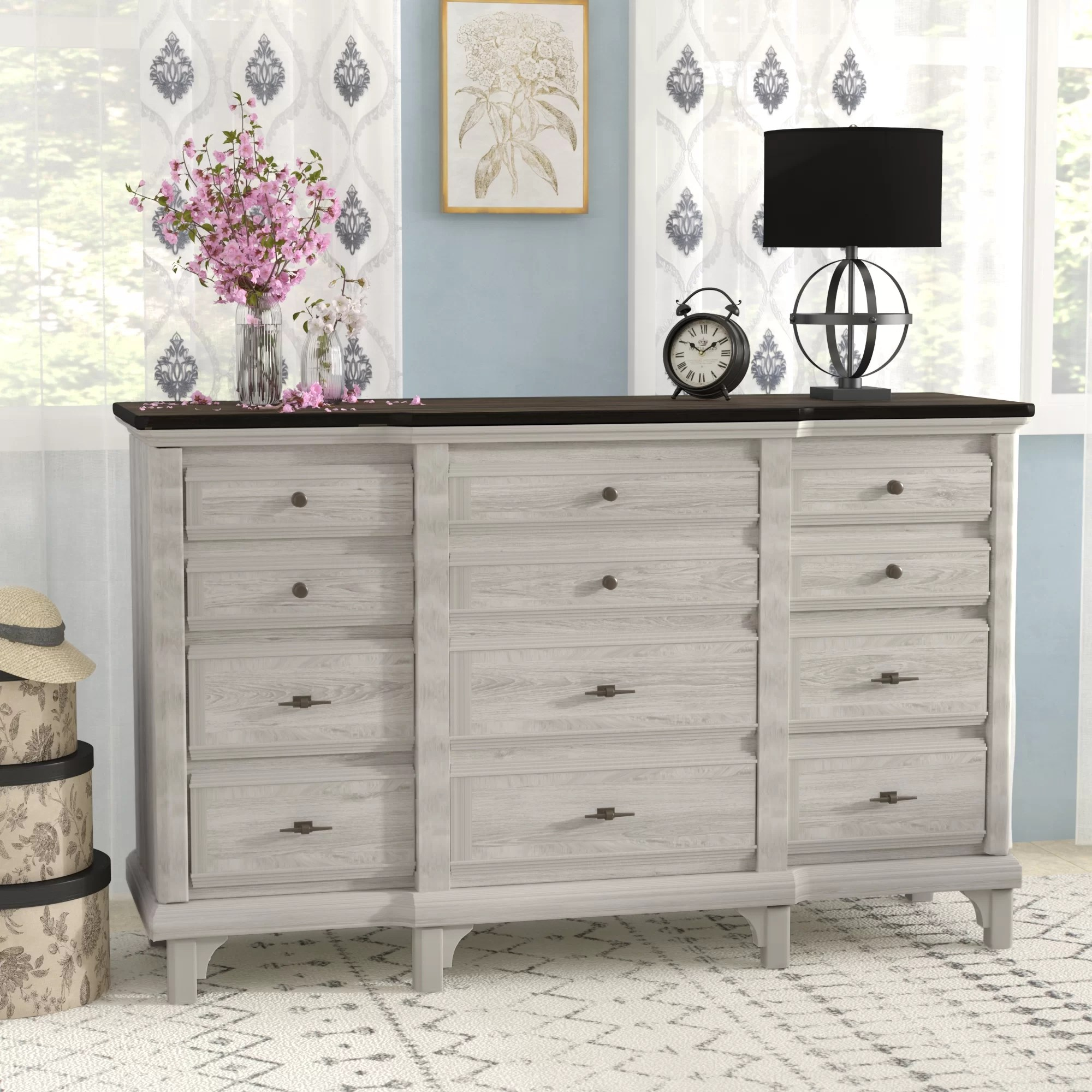 12 Drawer Chest Of Drawers Georgetown 12 Drawer Dresser