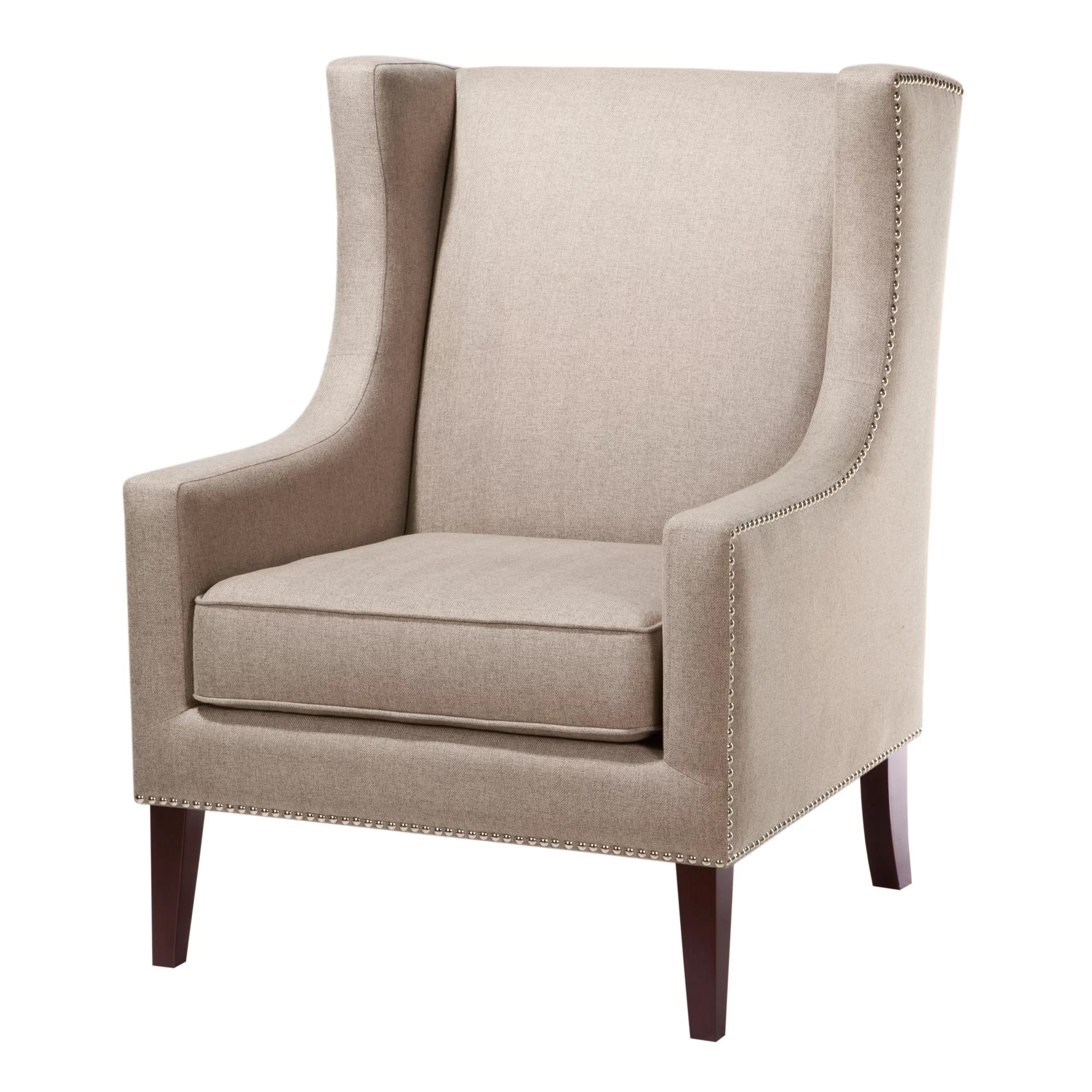 Oversized Reading Chair With Ottoman Accent Chairs Joss Main