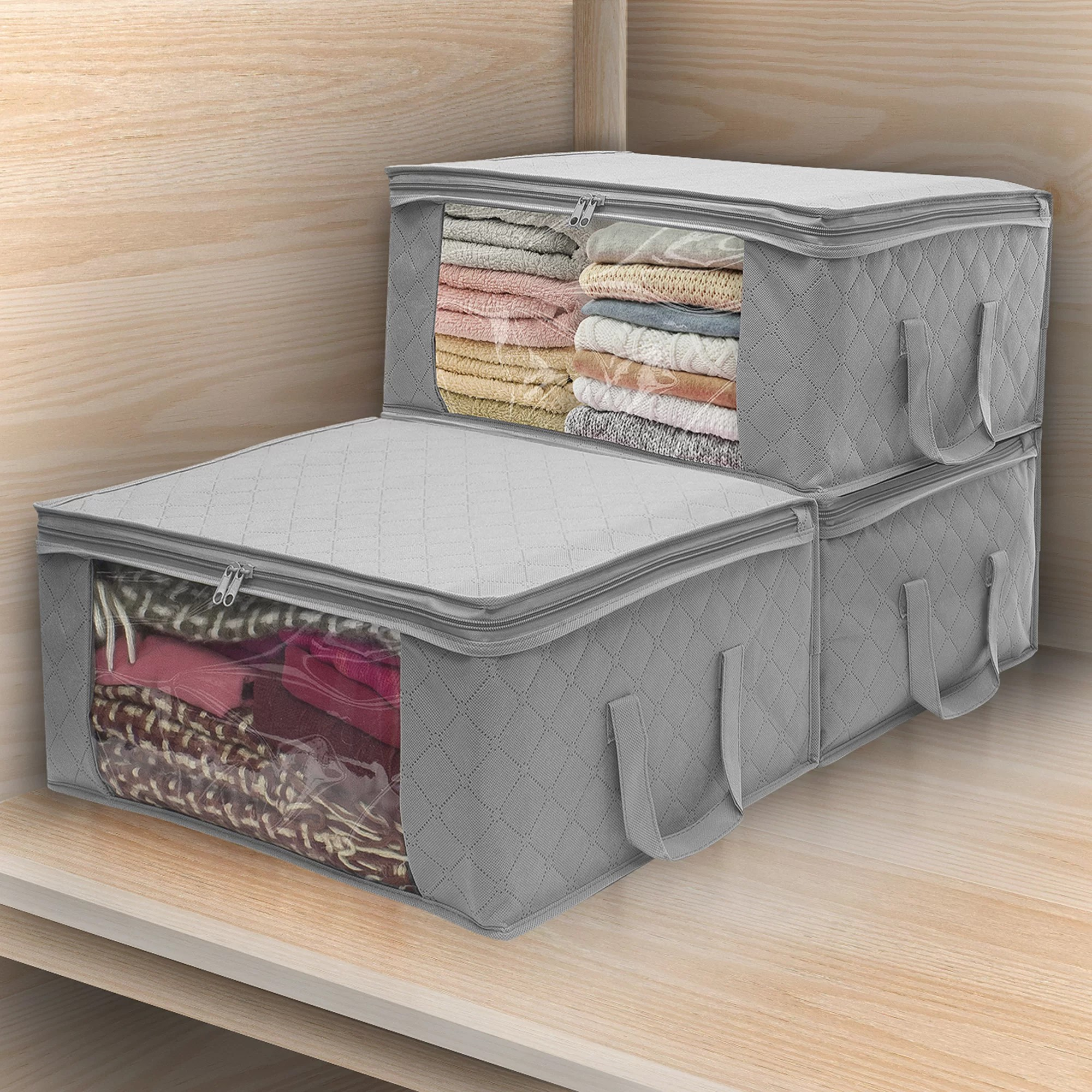 Under Bed Storage Frame Fabric Underbed Storage