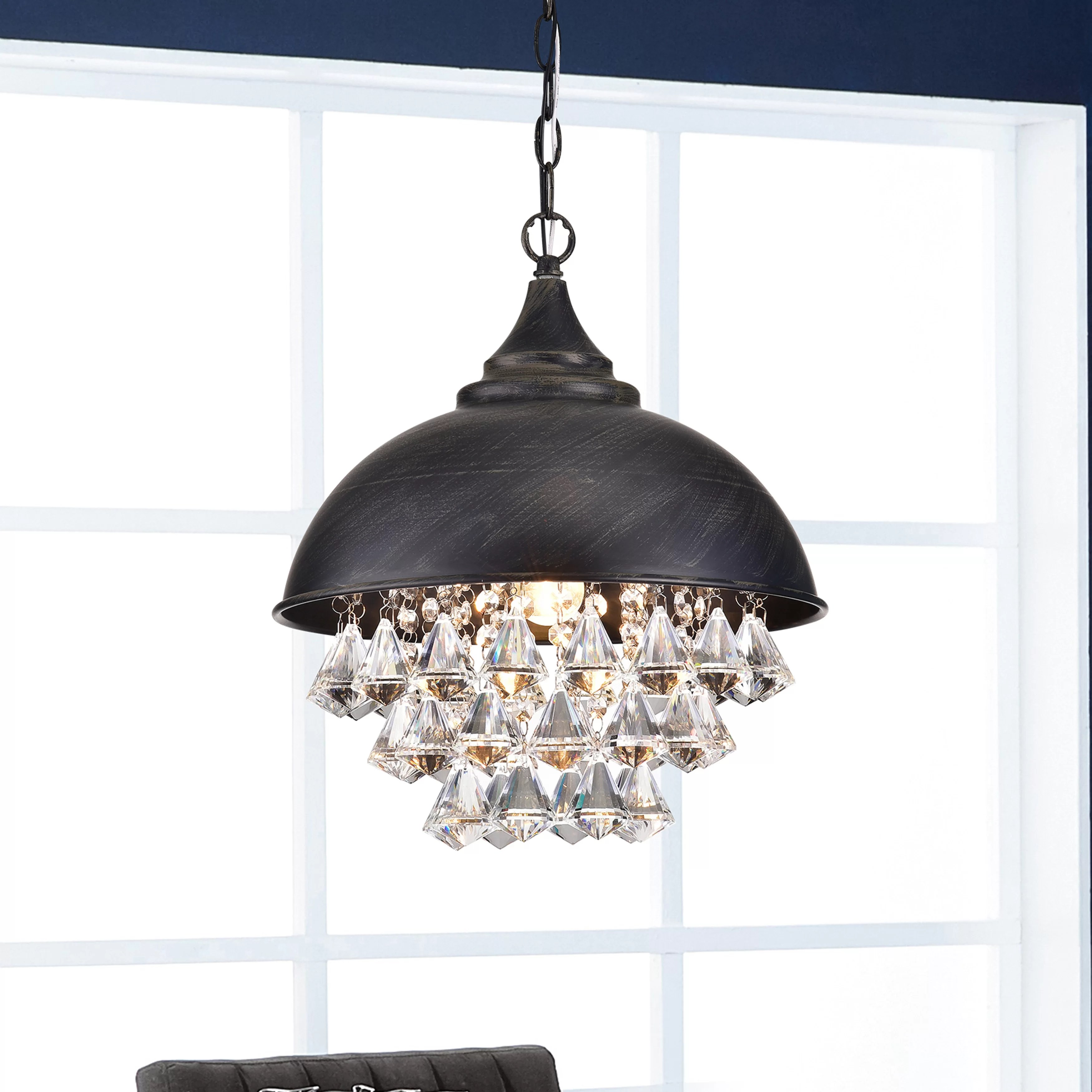 Glass Chandeliers Free Shipping Over 35 Wayfair