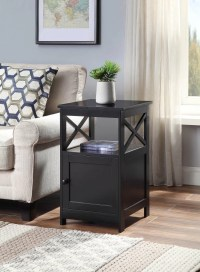 Beachcrest Home Stoneford End Table with Storage   Wayfair