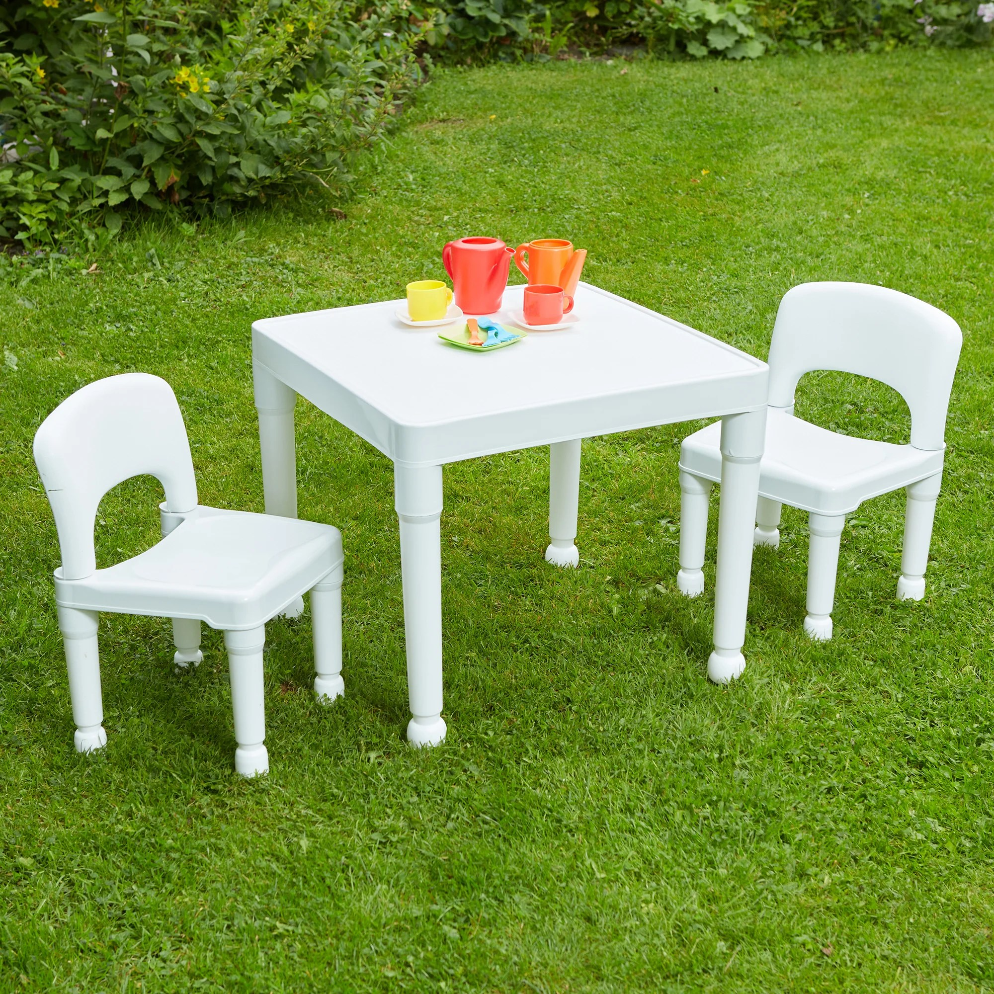 Harriet Bee Loren Children S 3 Piece Table And Chair Set Reviews Wayfair Co Uk