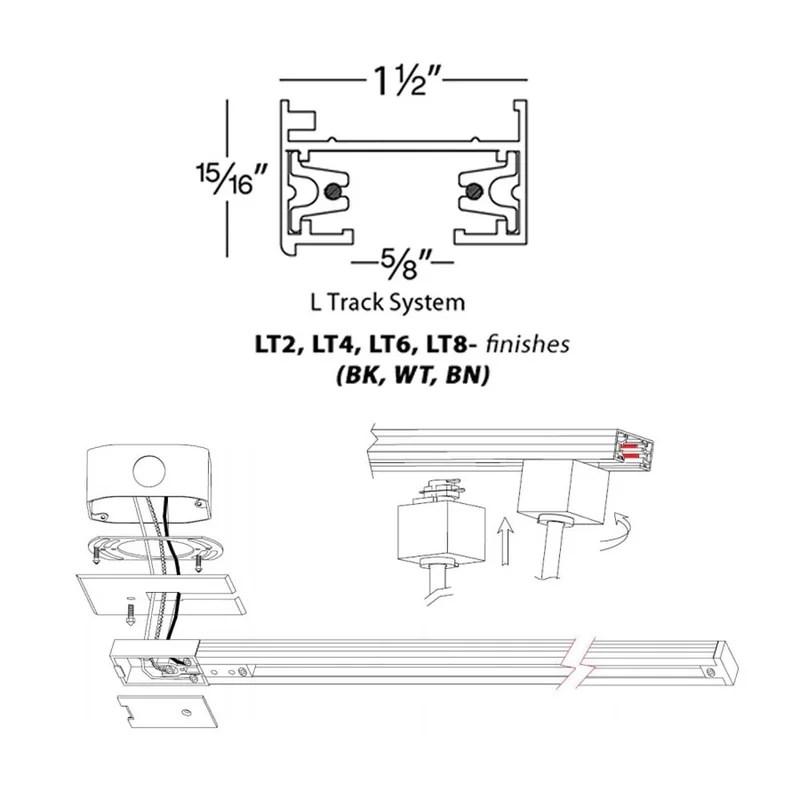 WAC Lighting Lightolier Series System Track  Reviews Wayfair