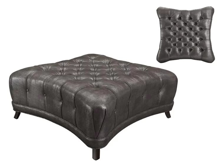 Oliver Tufted Ottoman By Bernhardt Buy Cheap Ottomans