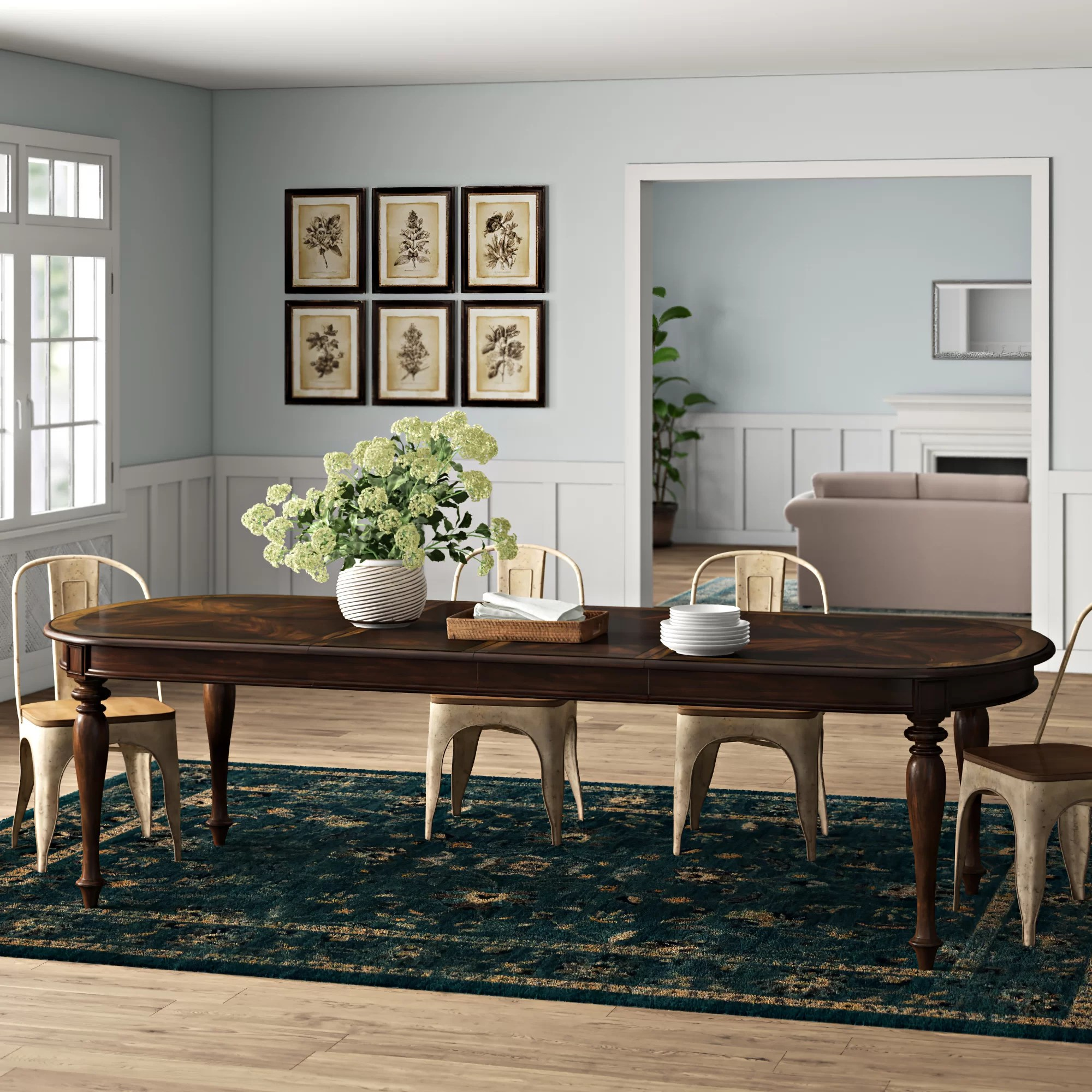 Leesburg Extendable Dining Table Reviews Birch Lane