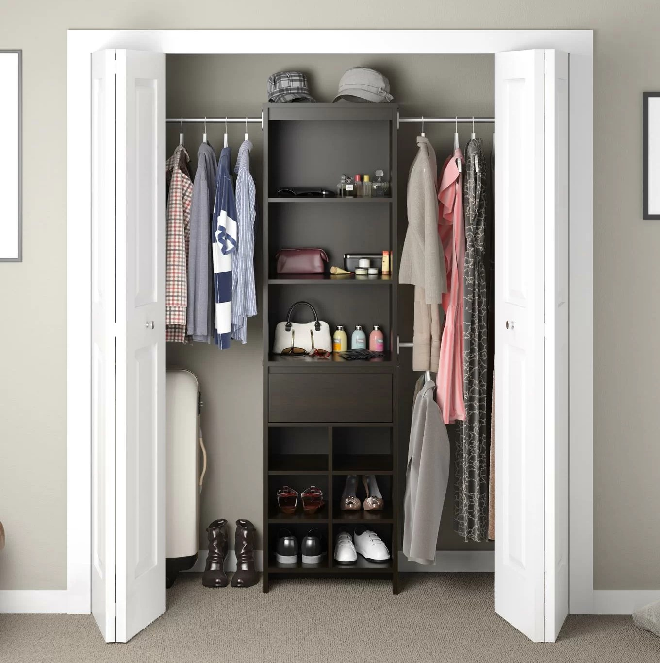 Closet Storage Solutions Closet Systems Organizers You Ll Love Wayfair Ca