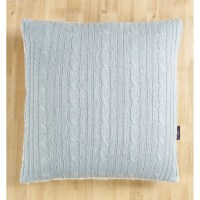 Brielle Cozy Cable Knit Throw Pillow Cover & Reviews | Wayfair