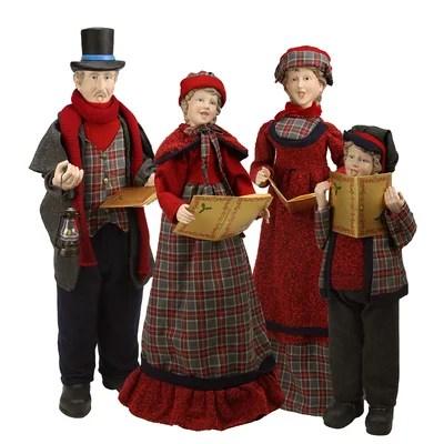 christmas carolers decorations inlandbillybullock - christmas carolers decorations