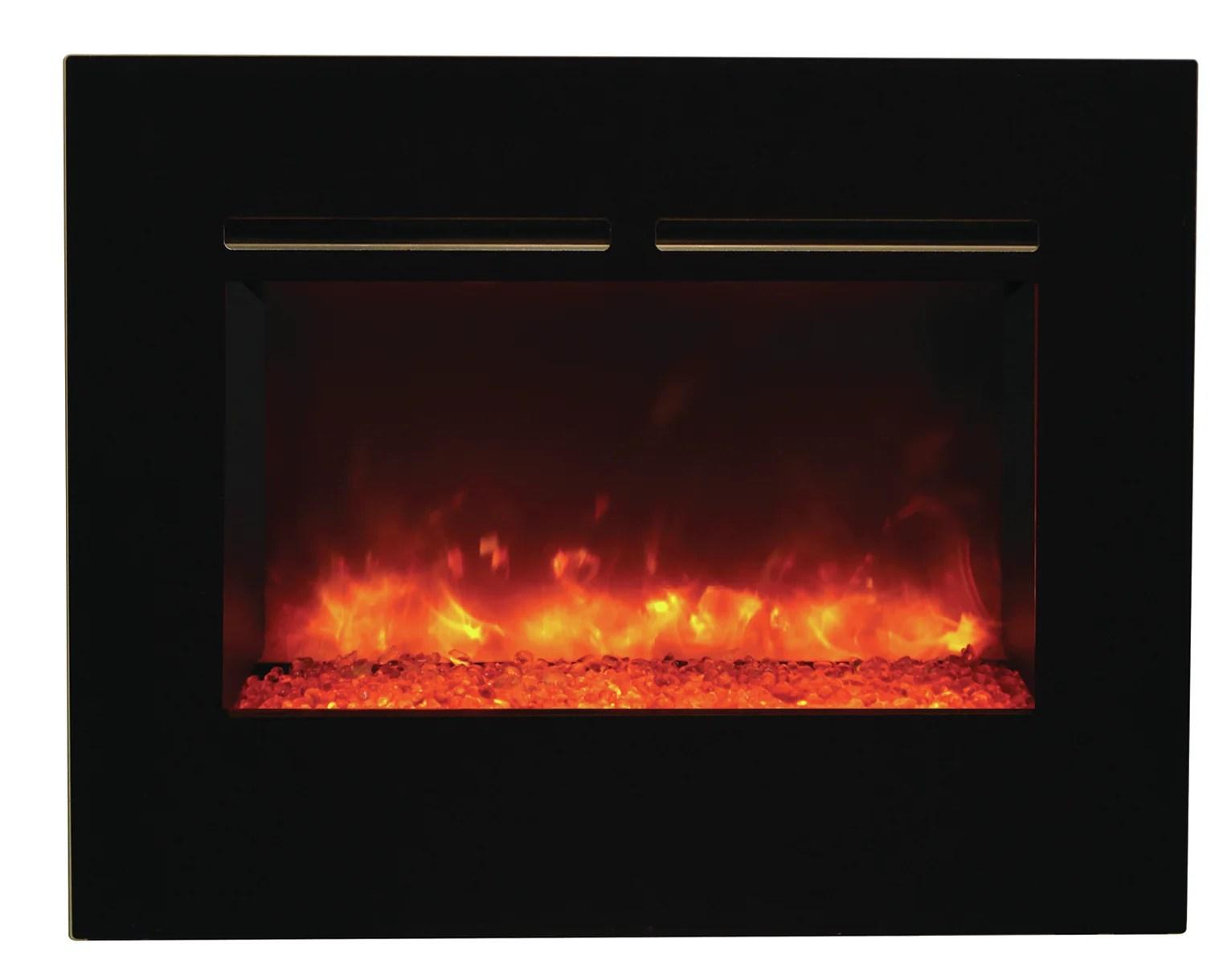 Amantii Zero Clearance Wall Mounted Electric Fireplace Ebay