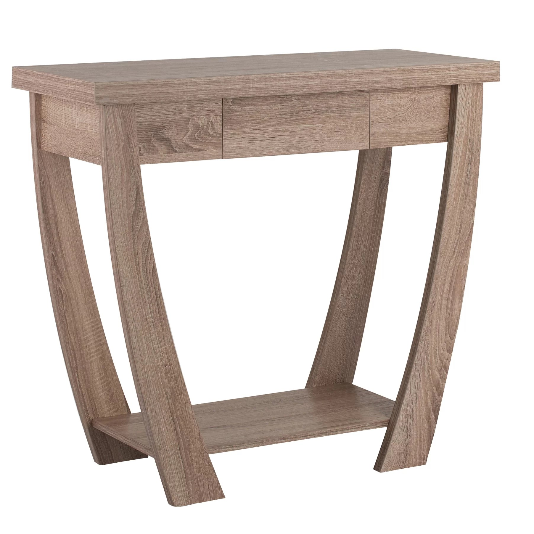Console Design Hokku Designs Quin Console Table And Reviews Wayfair