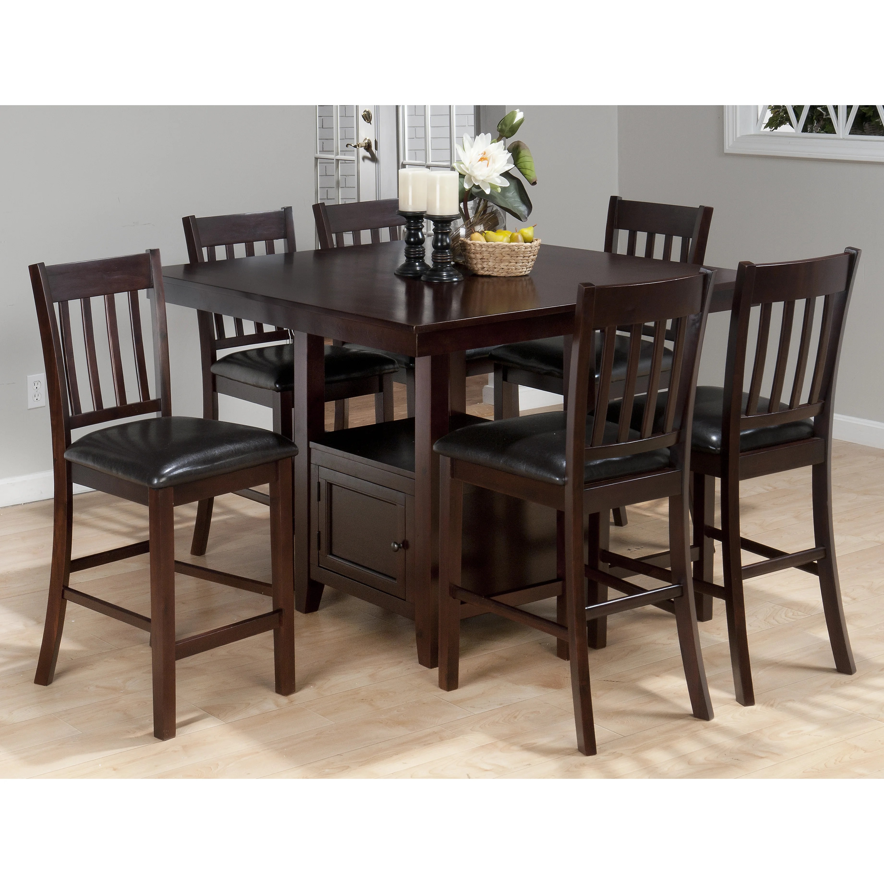 Kitchen table yourtruevalue counter height kitchen tables tryde counter height kitchen table - Counter kitchen table ...